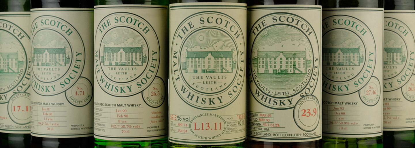 Scotch Malt Whisky Society Codes