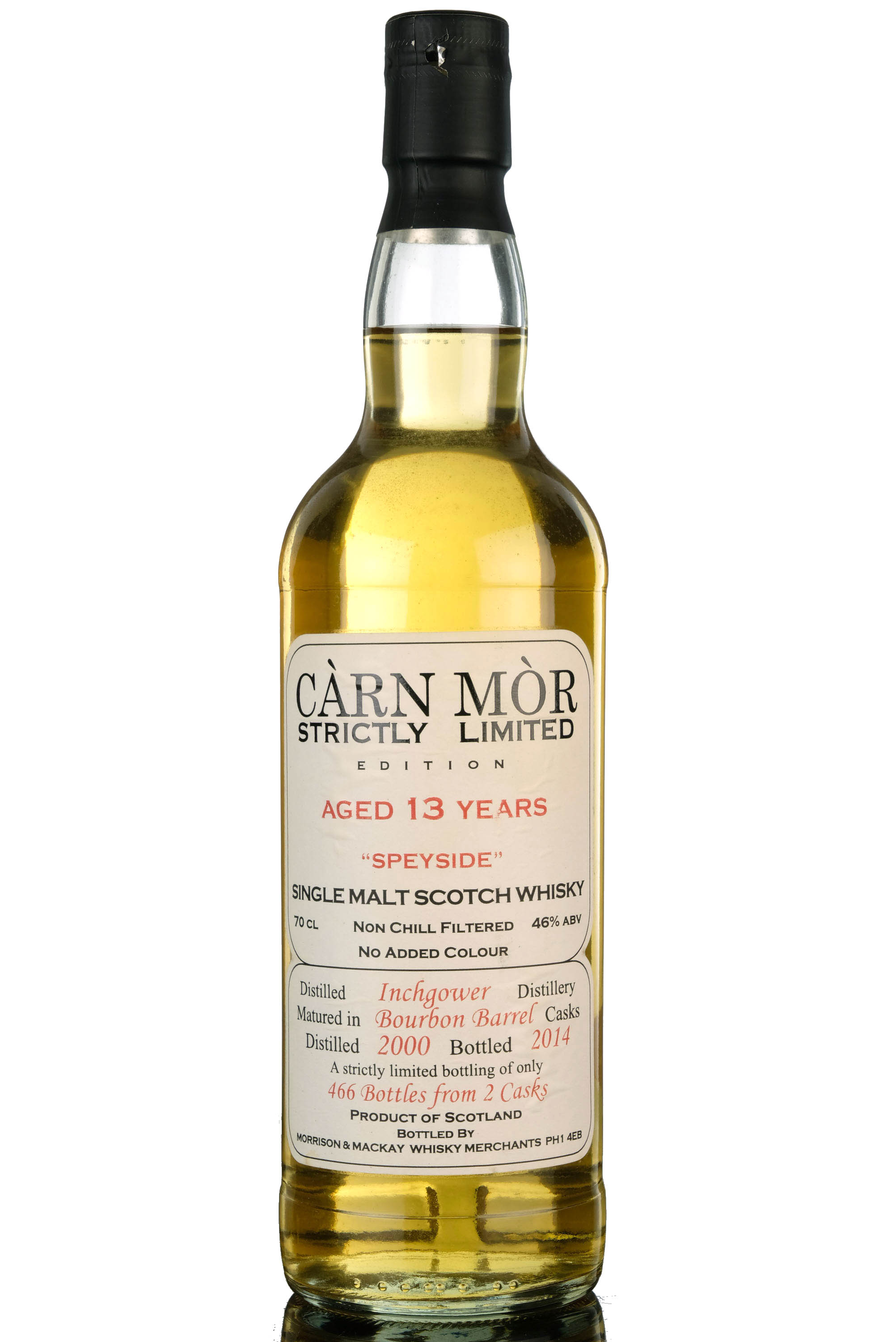 inchgower 2000-2014 - 13 year old - carn mor
