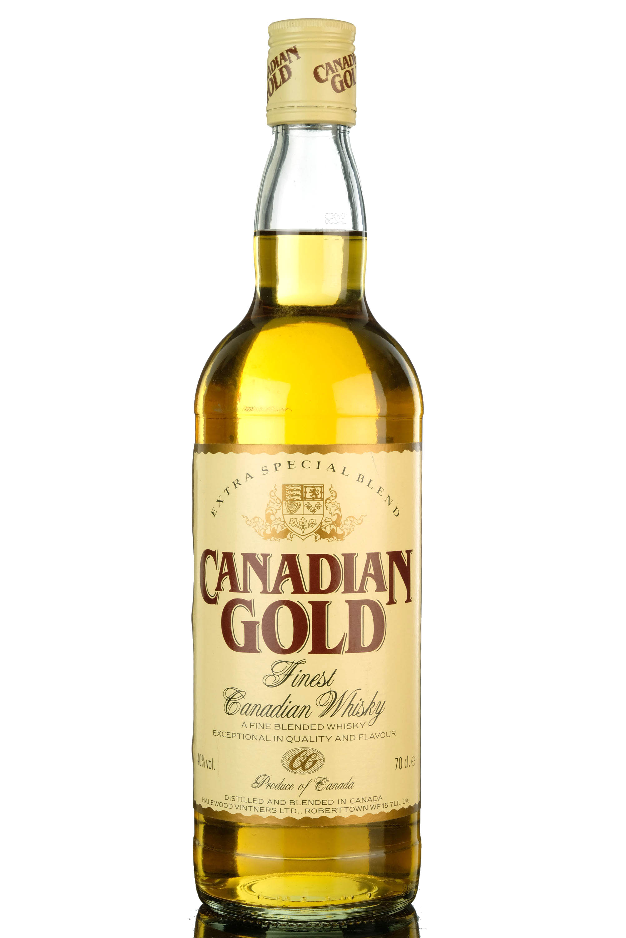 canadian gold - canadian whisky