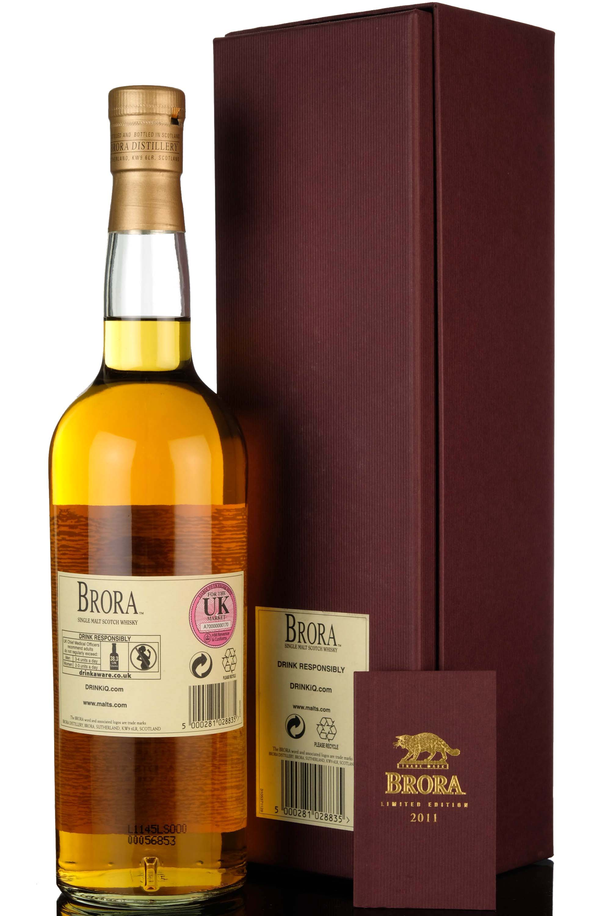 brora 32 year old - 2011 special release