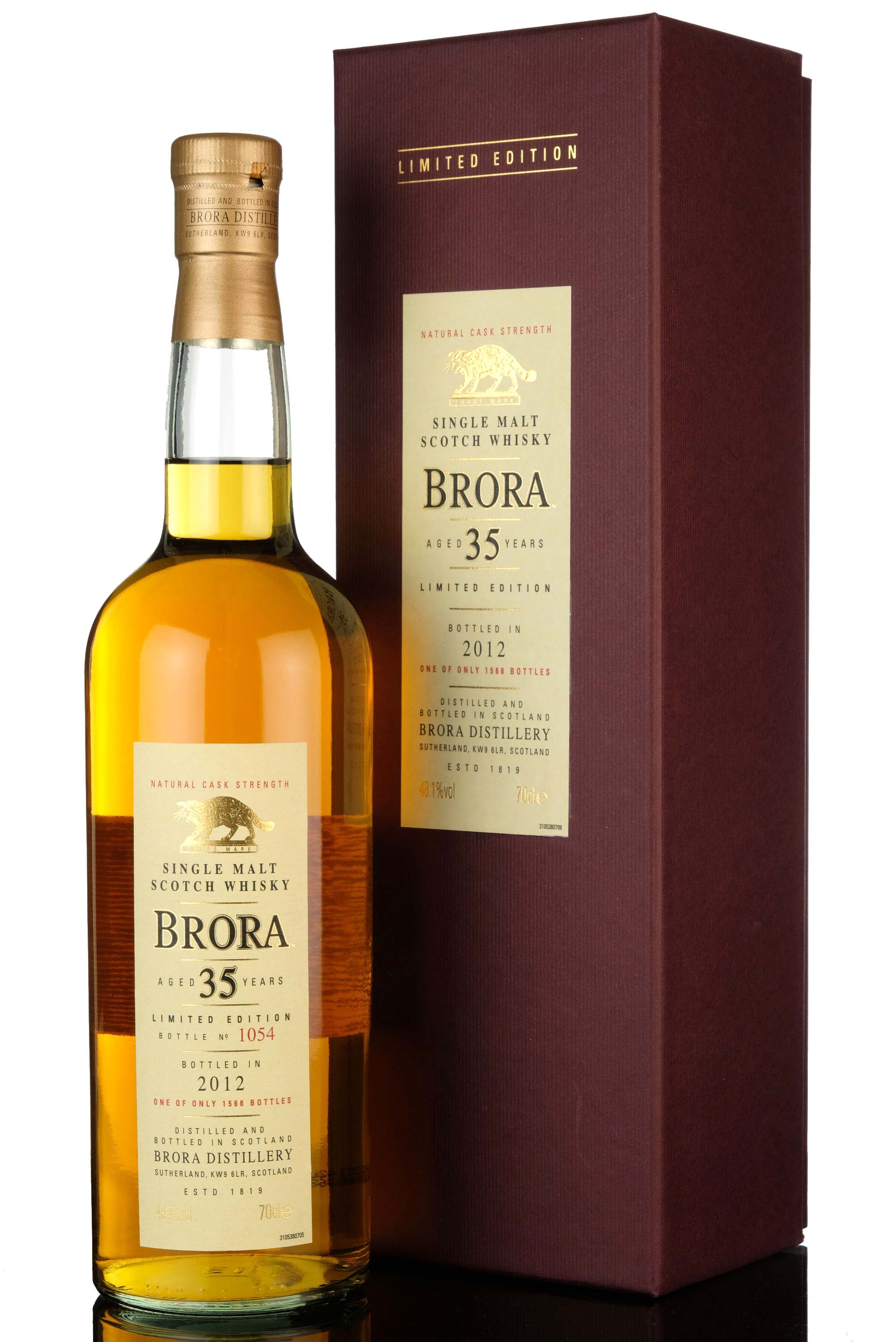 brora 35 year old - 2012 special release