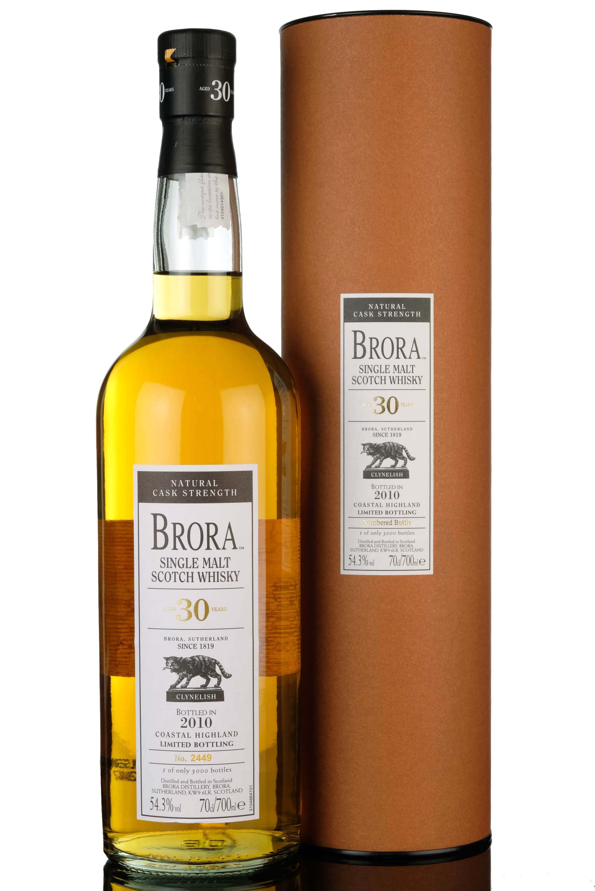 brora 30 year old - 2010 release