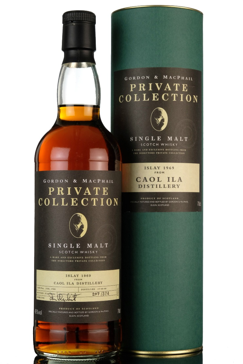 caol ila 1969-2004 - 35 year old - private collection - casks 1755 & 1760