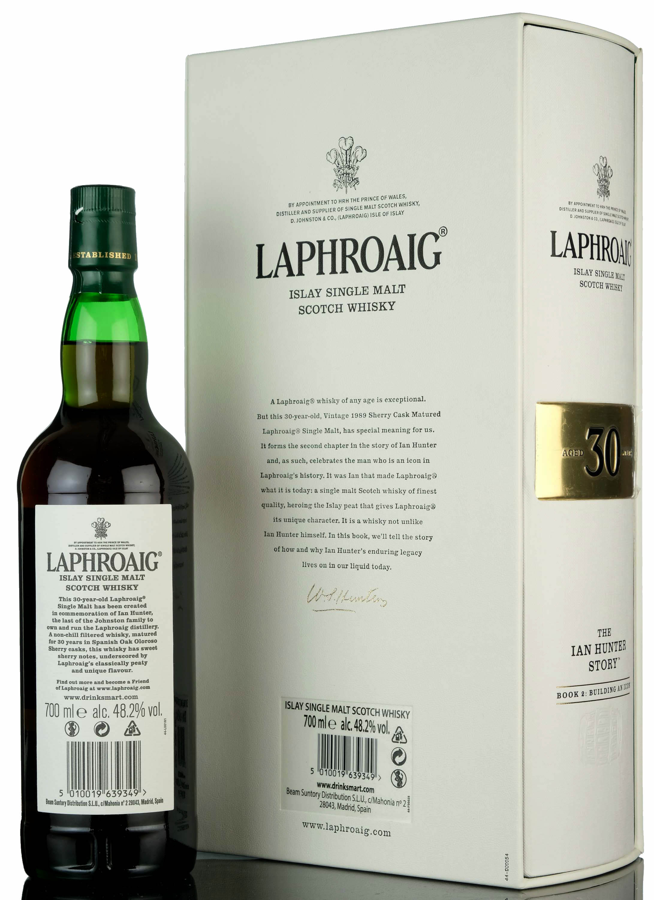 laphroaig 30 year old - the ian hunter story book 2