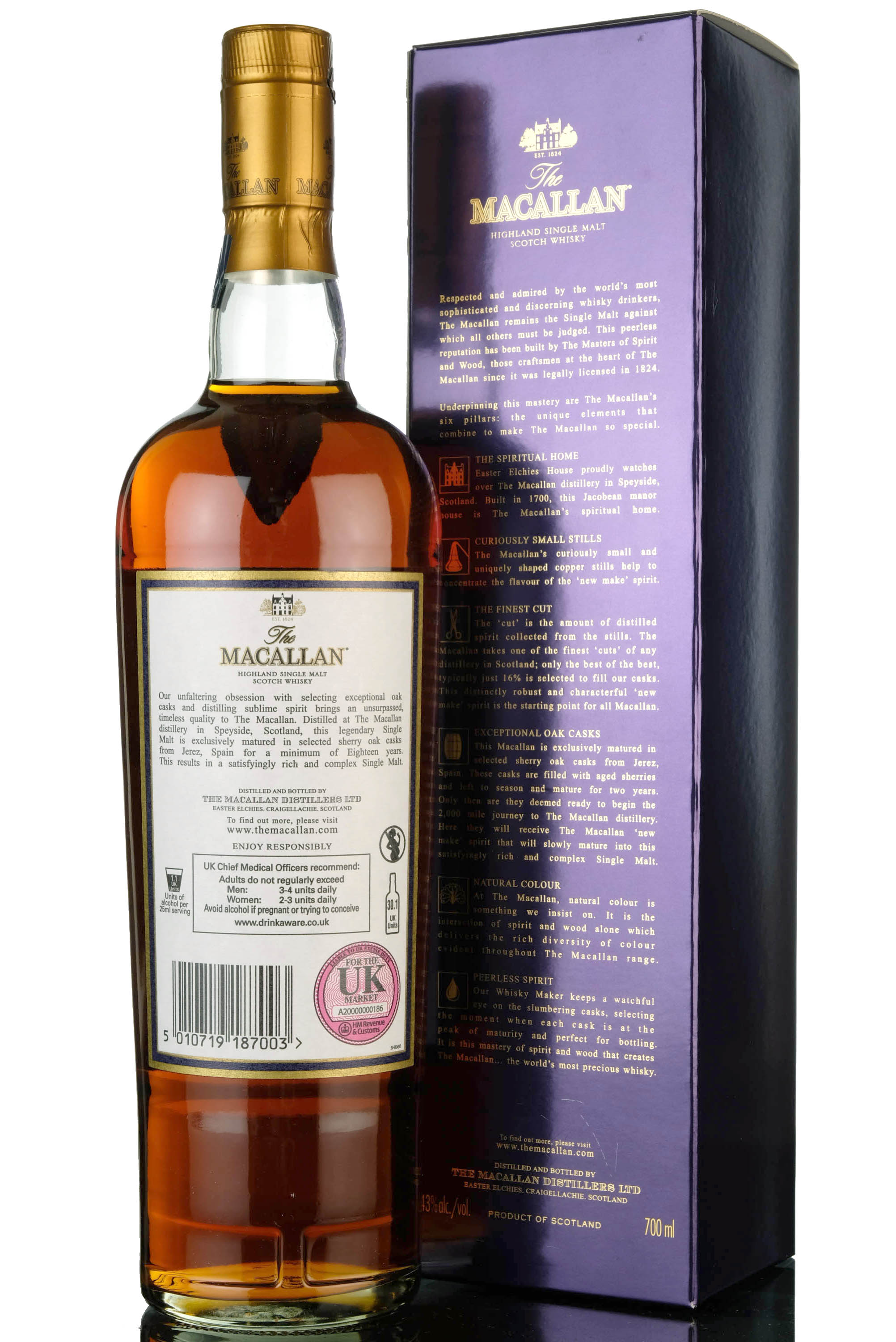 macallan 18 year old - 2017 release