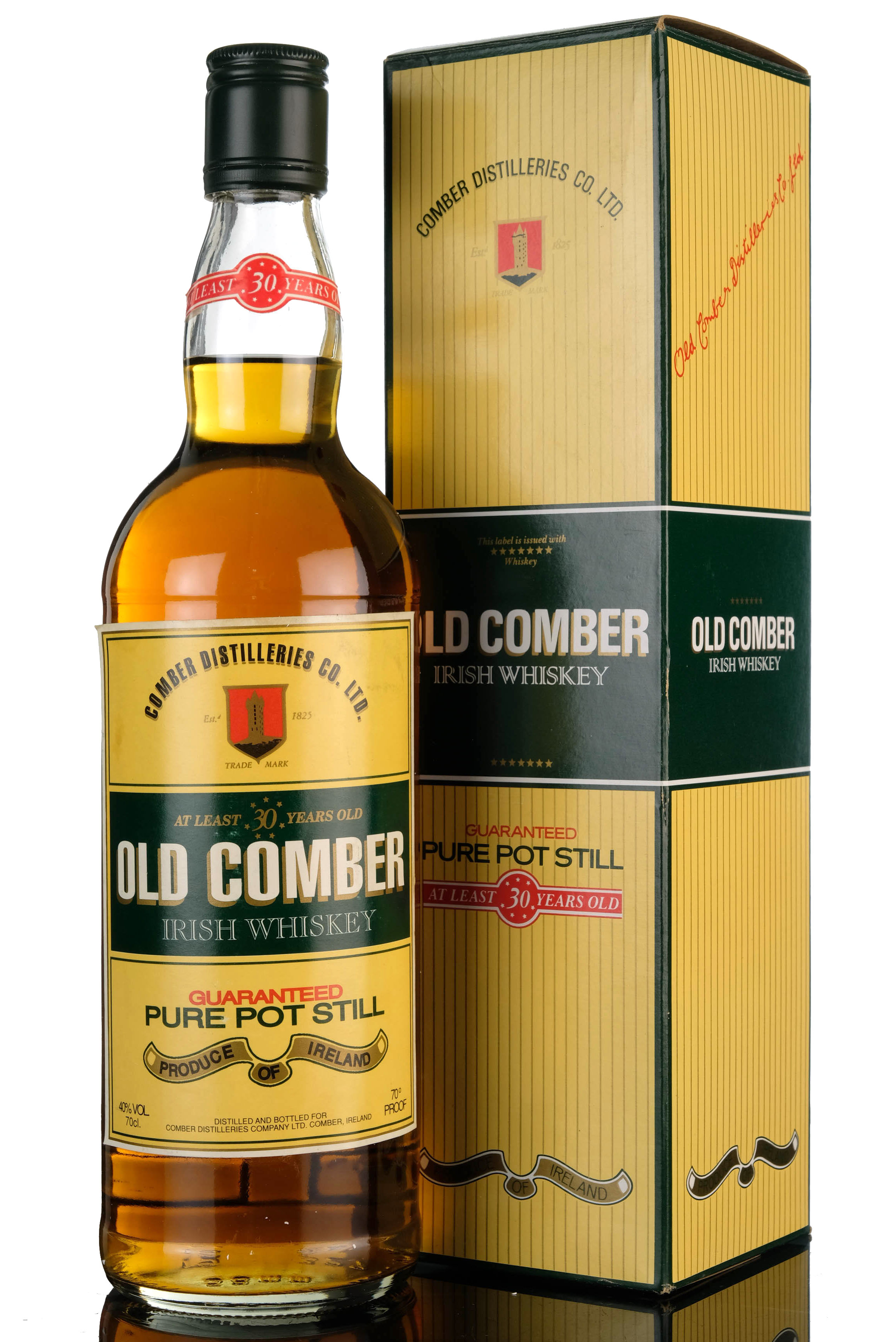 old comber 30 year old - irish whiskey