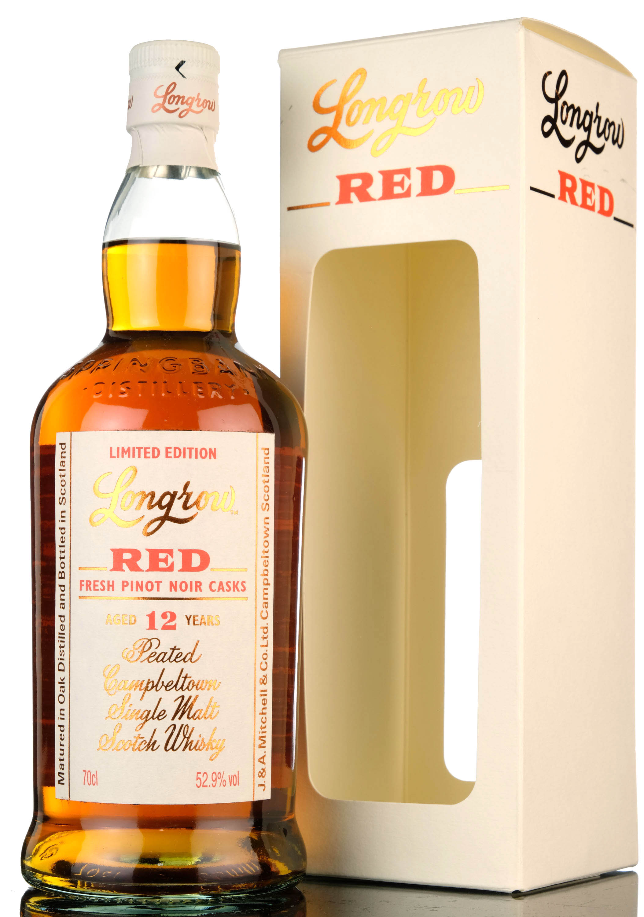 longrow red - 12 year old - 52.9%