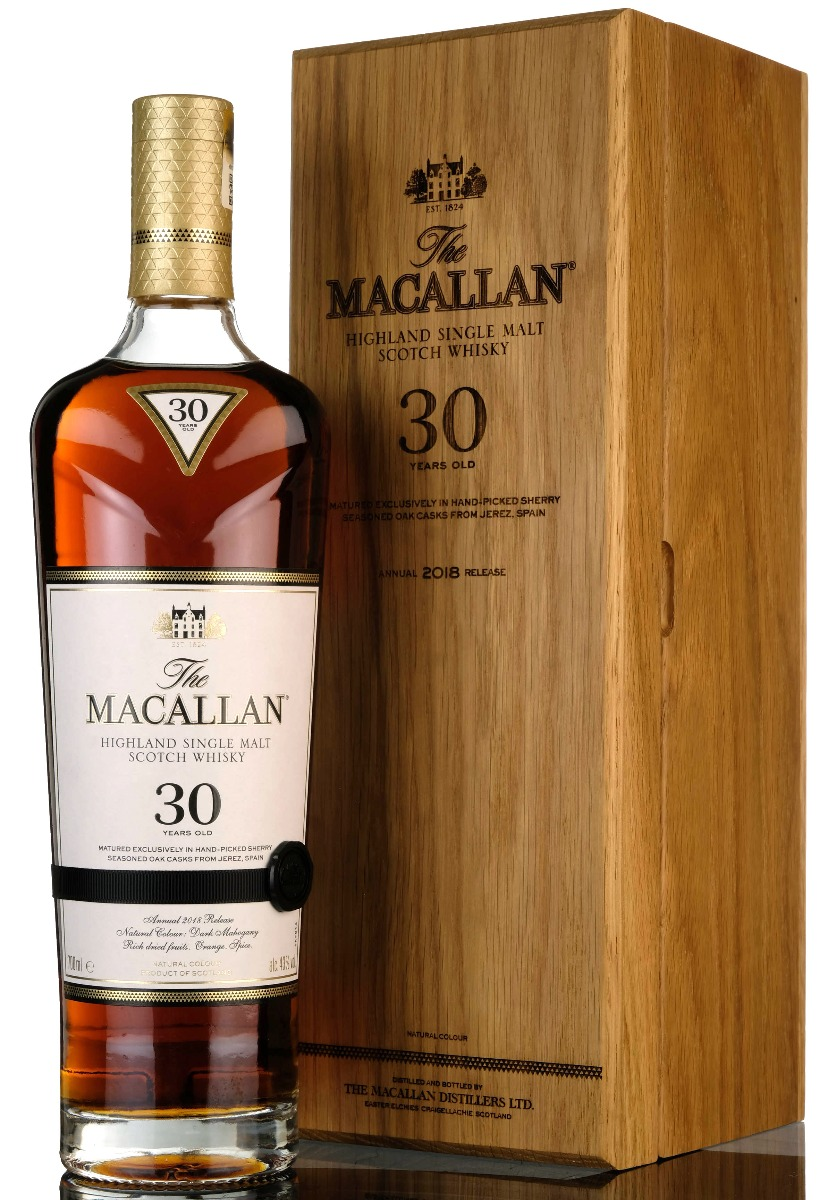 macallan 30 year old - 2018 release