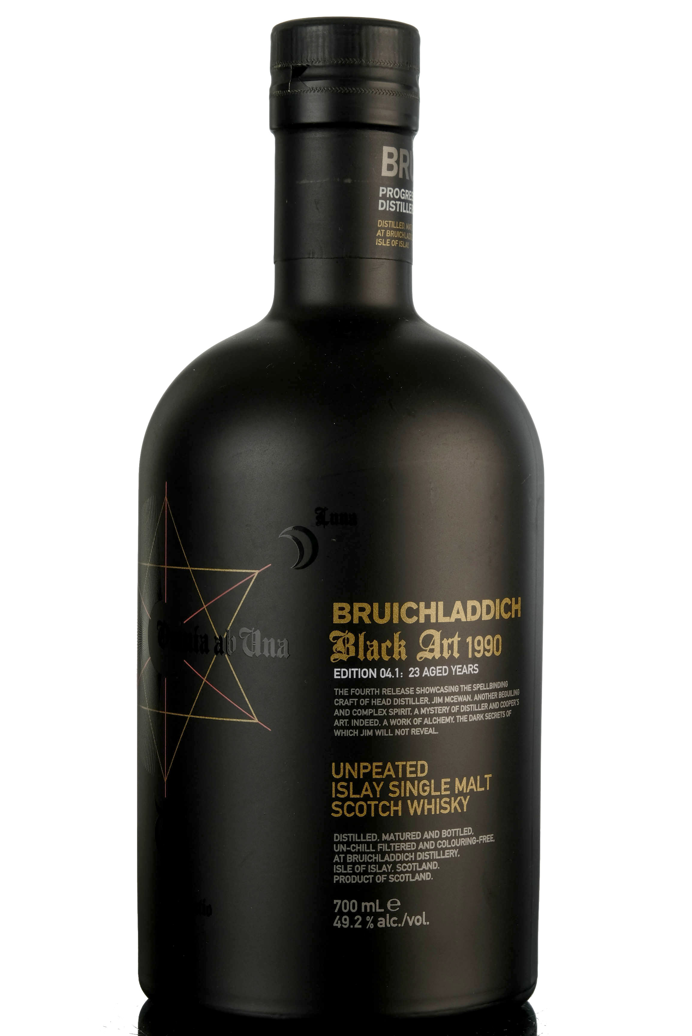 bruichladdich 1990 - black art - edition 04.1