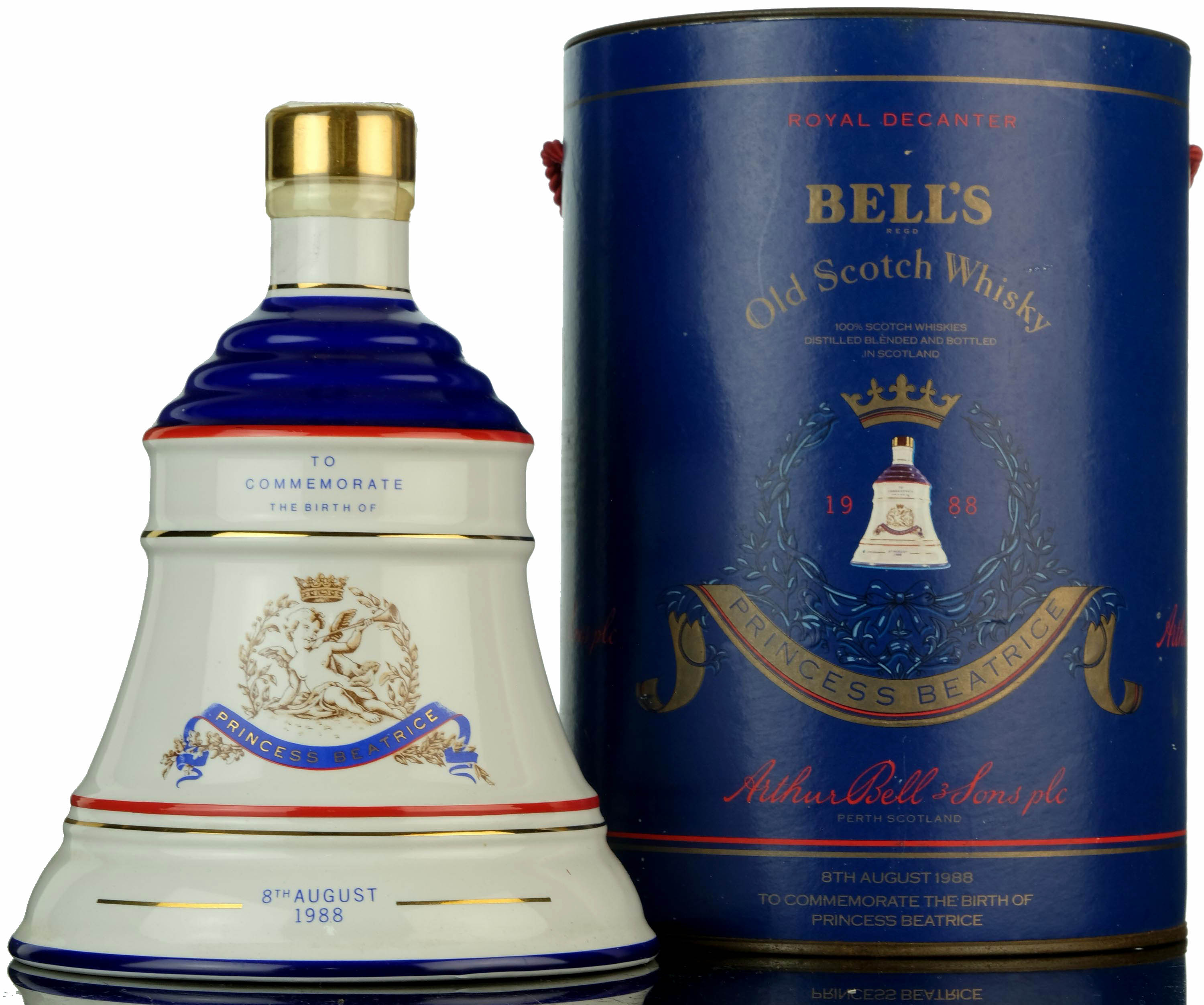 bells to commemorate the birth of princess beatrice 1988
