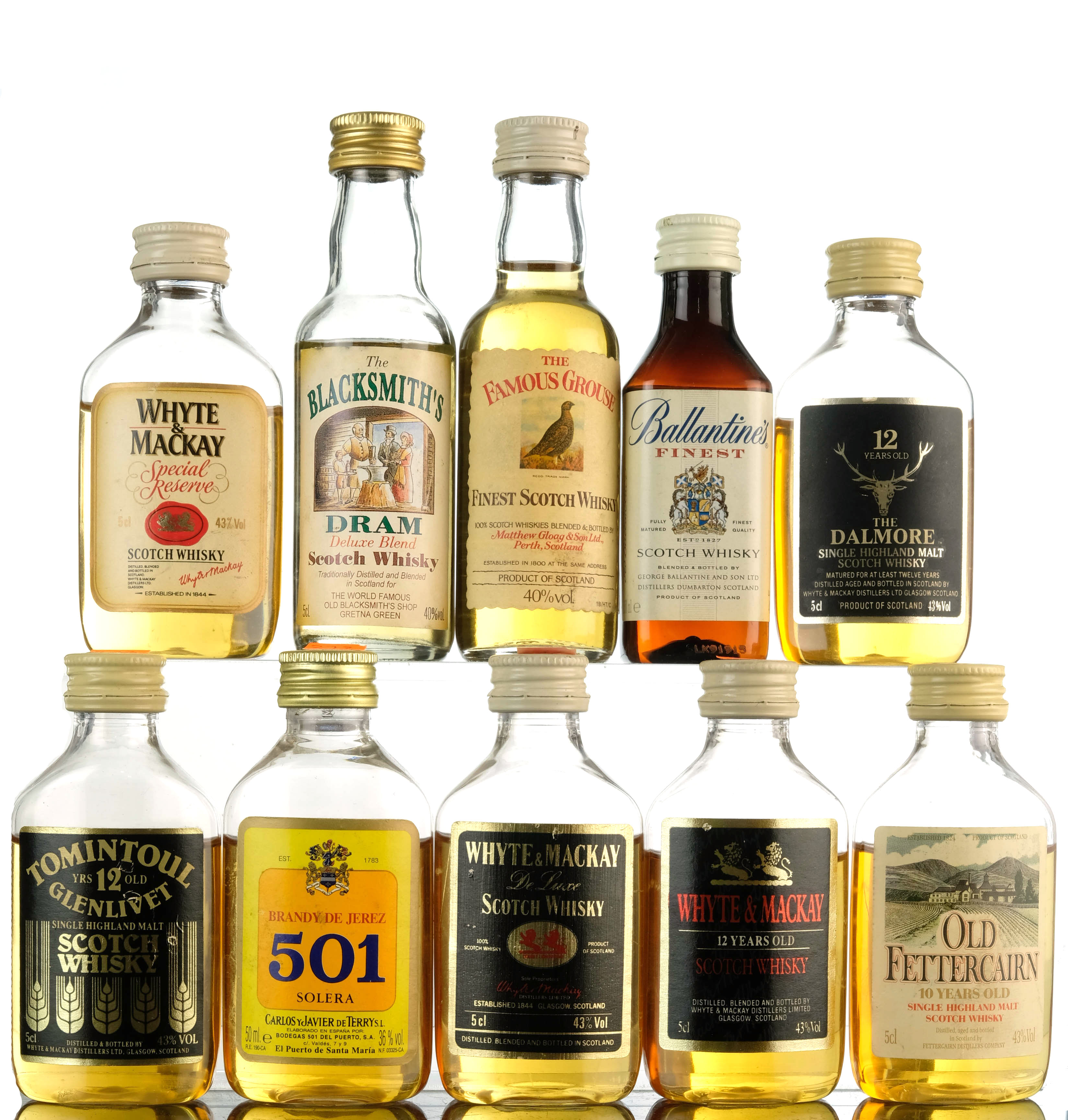 10 x blended miniatures
