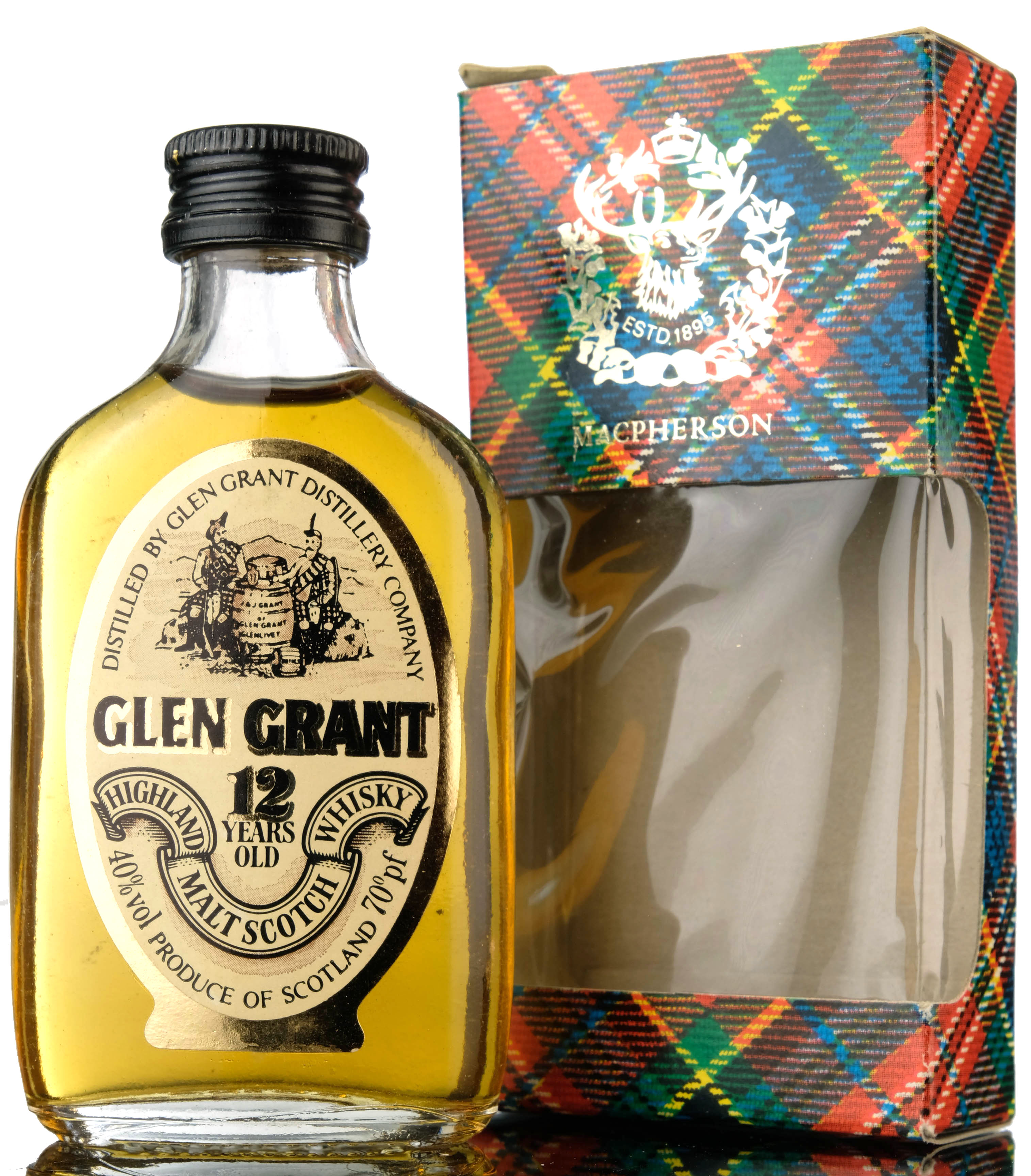 glen grant 12 year old miniature
