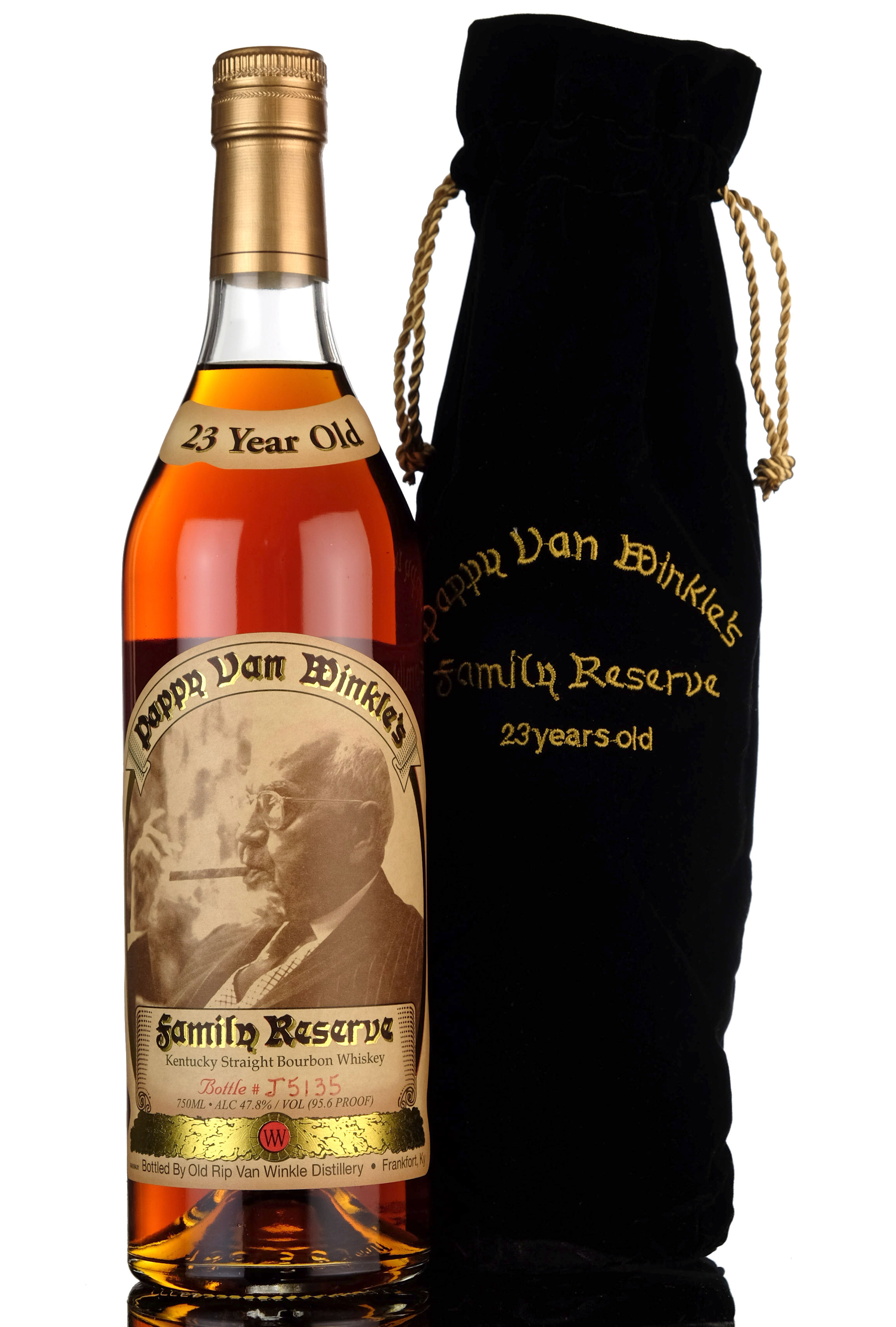 pappy van winkles family reserve - 23 year old - kentucky straight bourbon whiskey - 2018