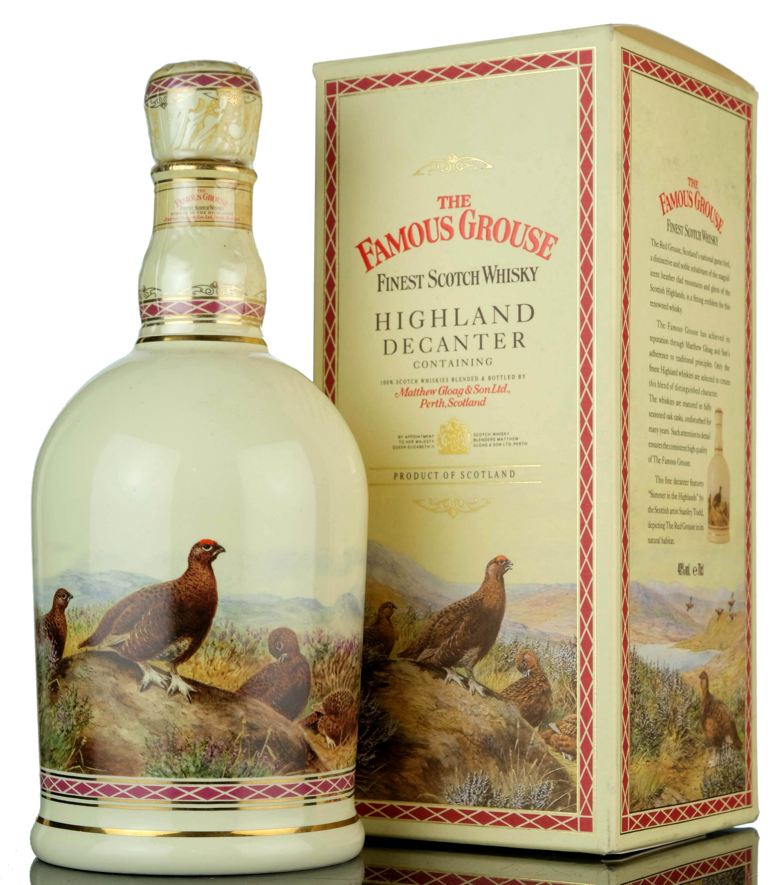 famous grouse decanter