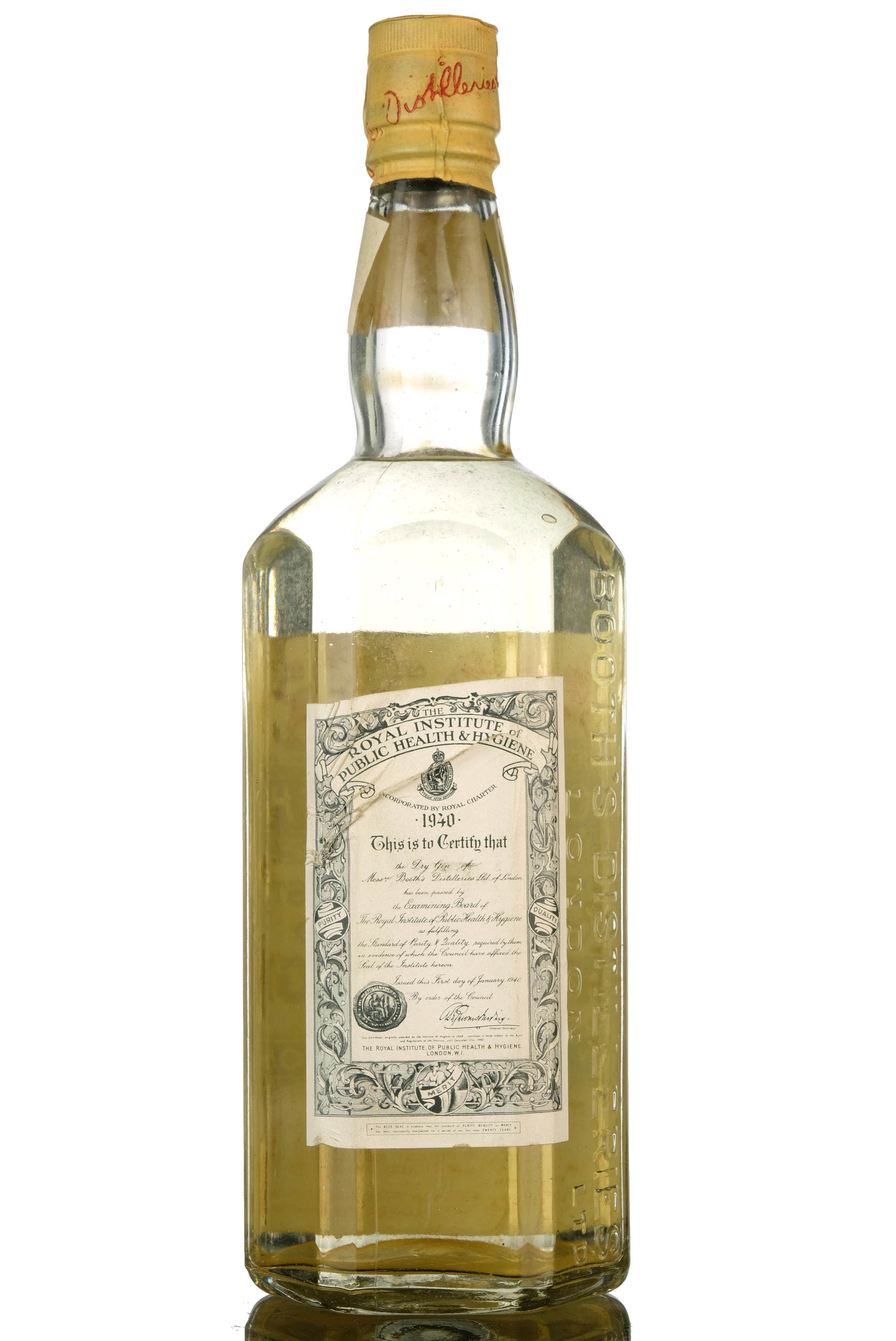 booths finest dry gin 1940