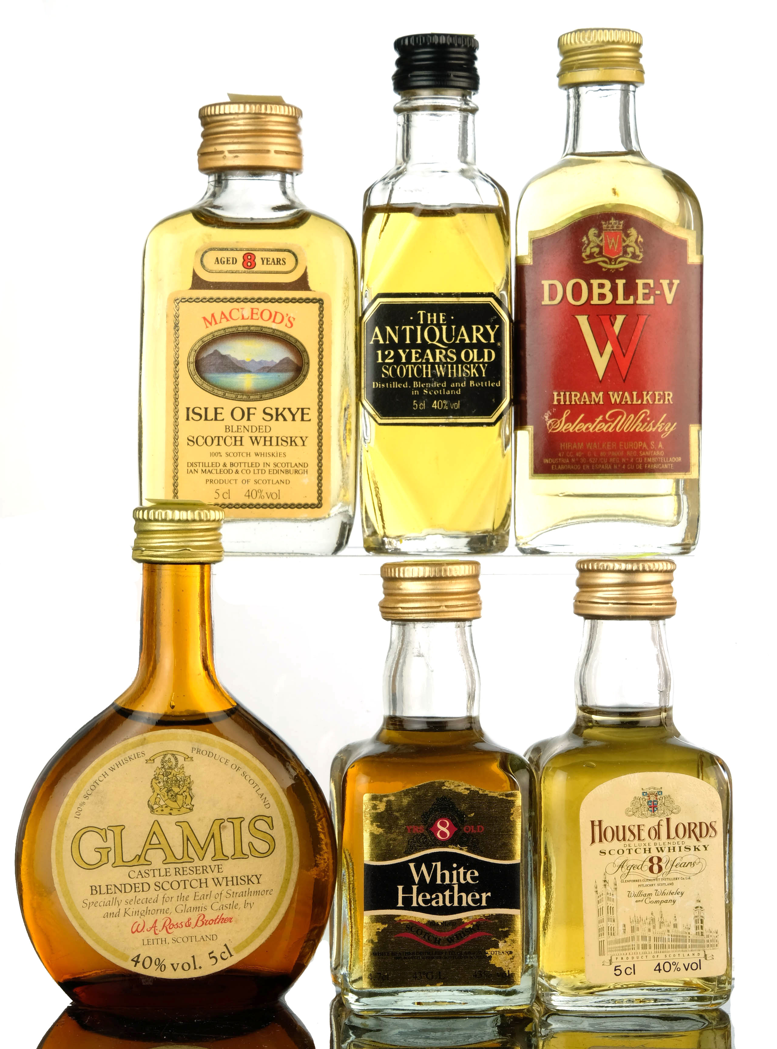 6 x blended miniatures