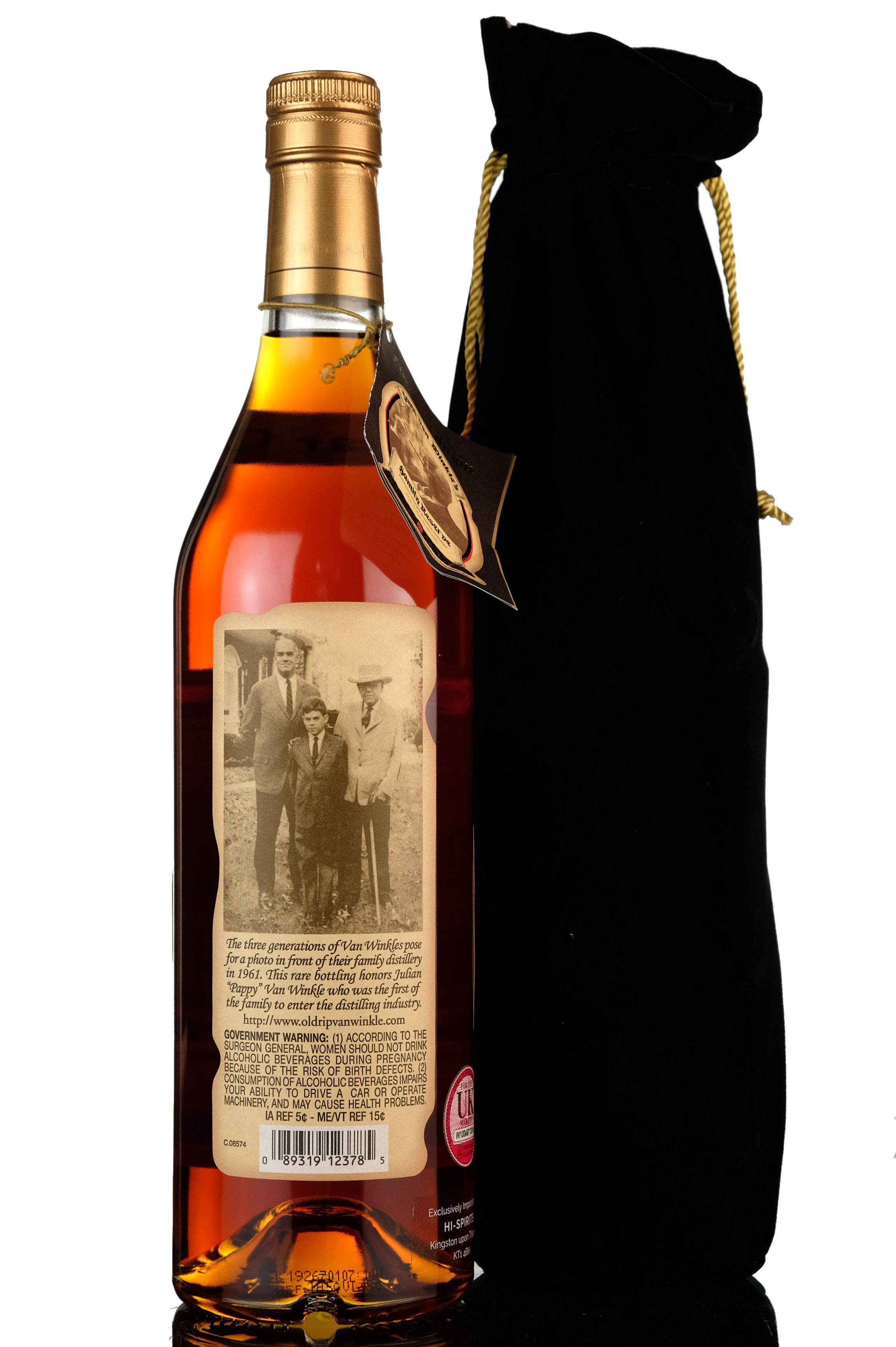 pappy van winkles family reserve - 23 year old - kentucky straight bourbon whiskey