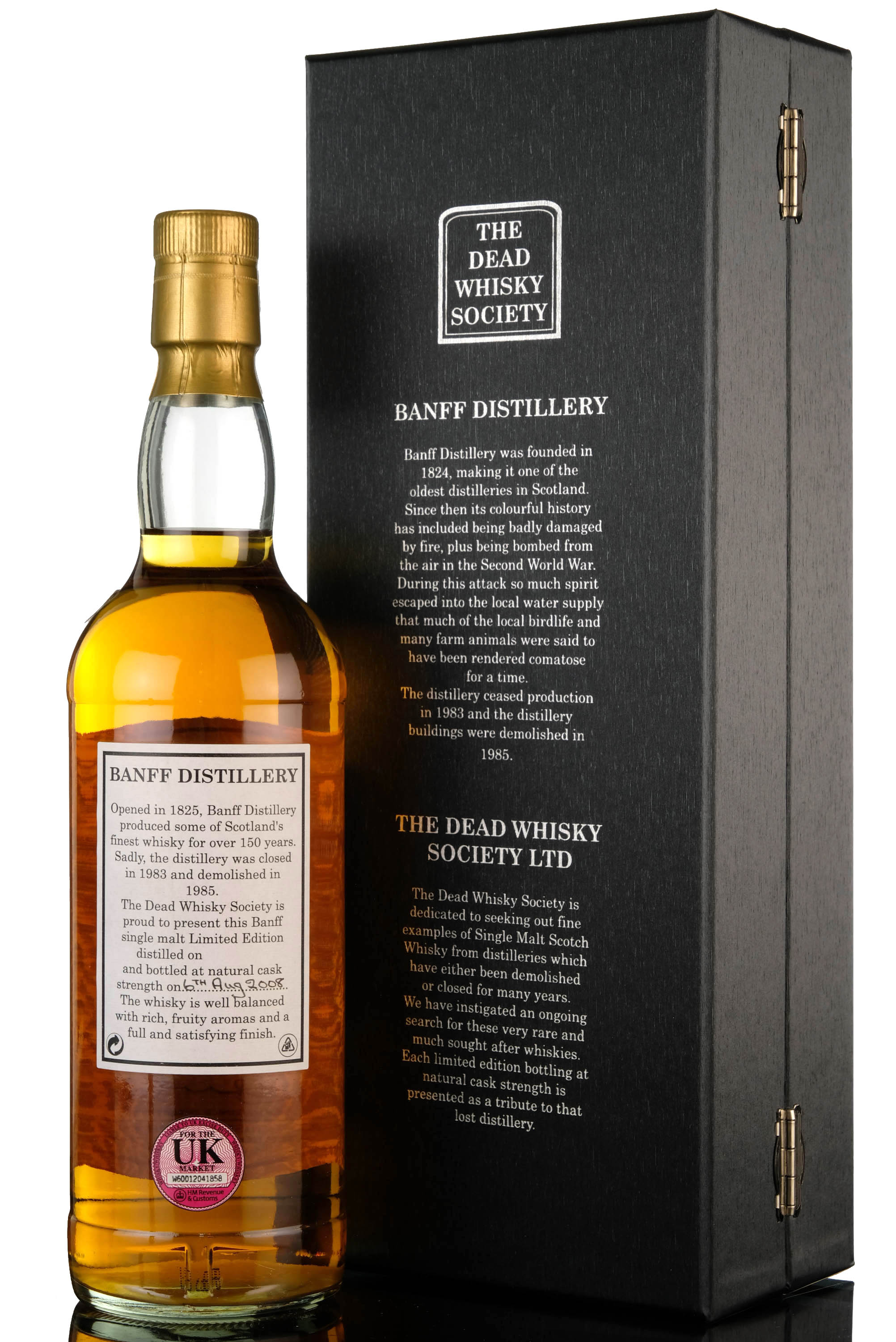 banff 1971-2008 - 37 year old - dead whisky society