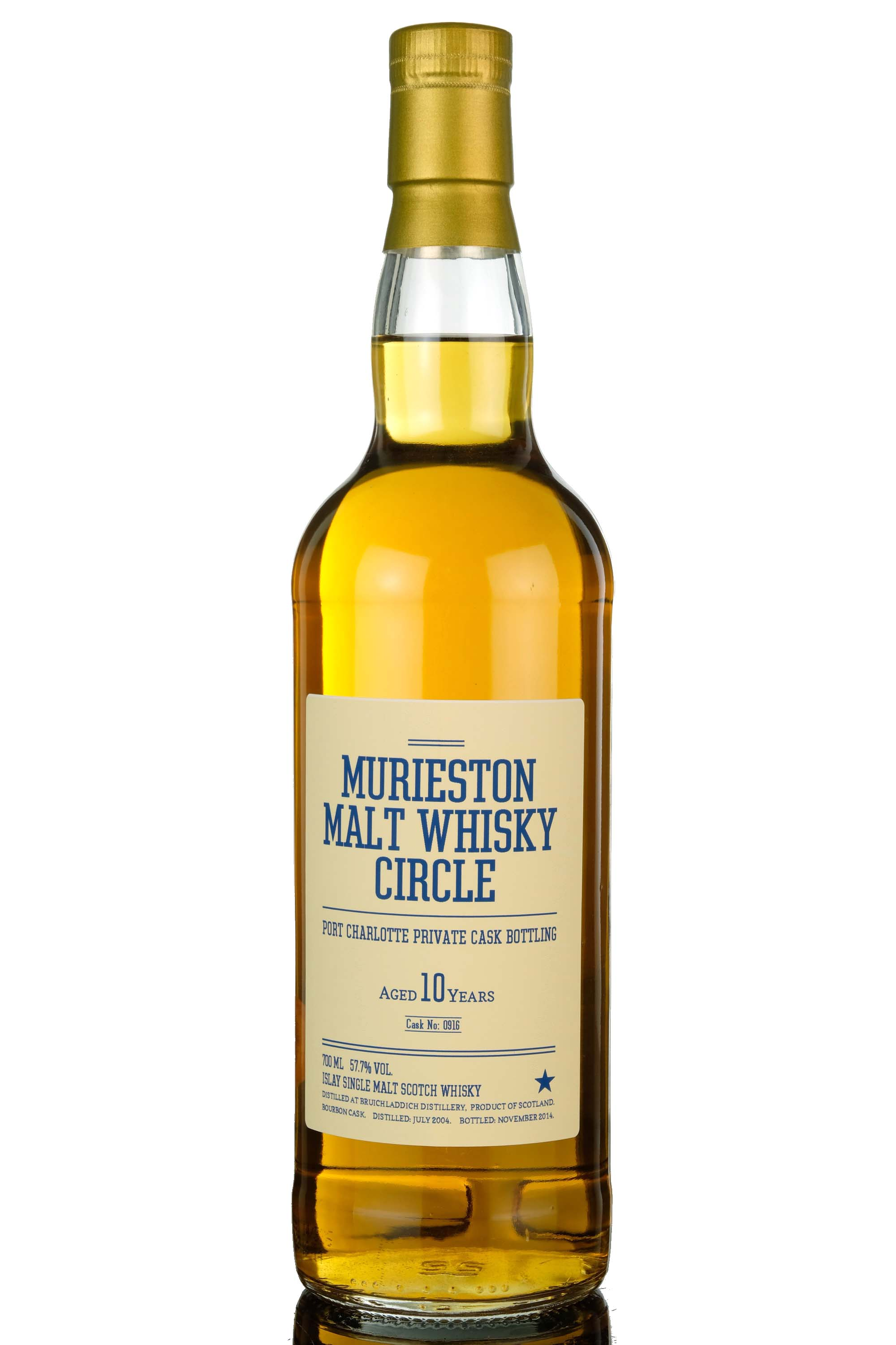 port charlotte 10 year old - private single cask 0916