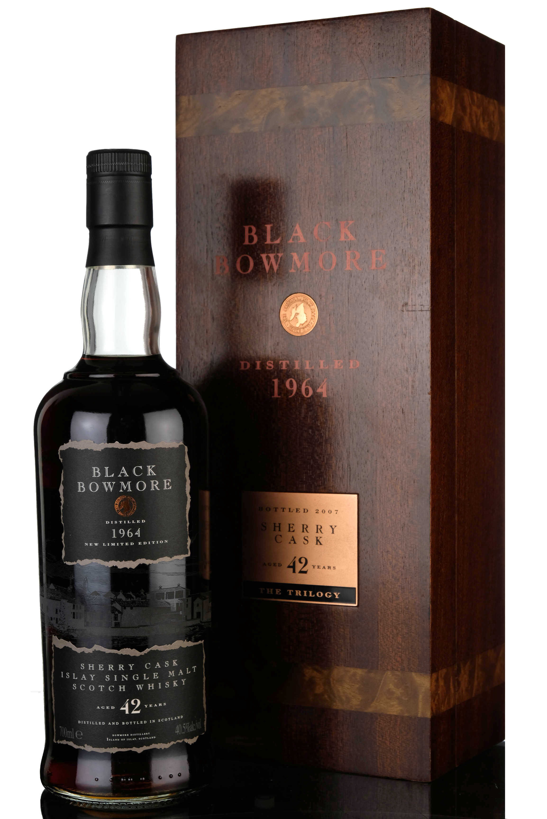 black bowmore 1964 - 42 year old