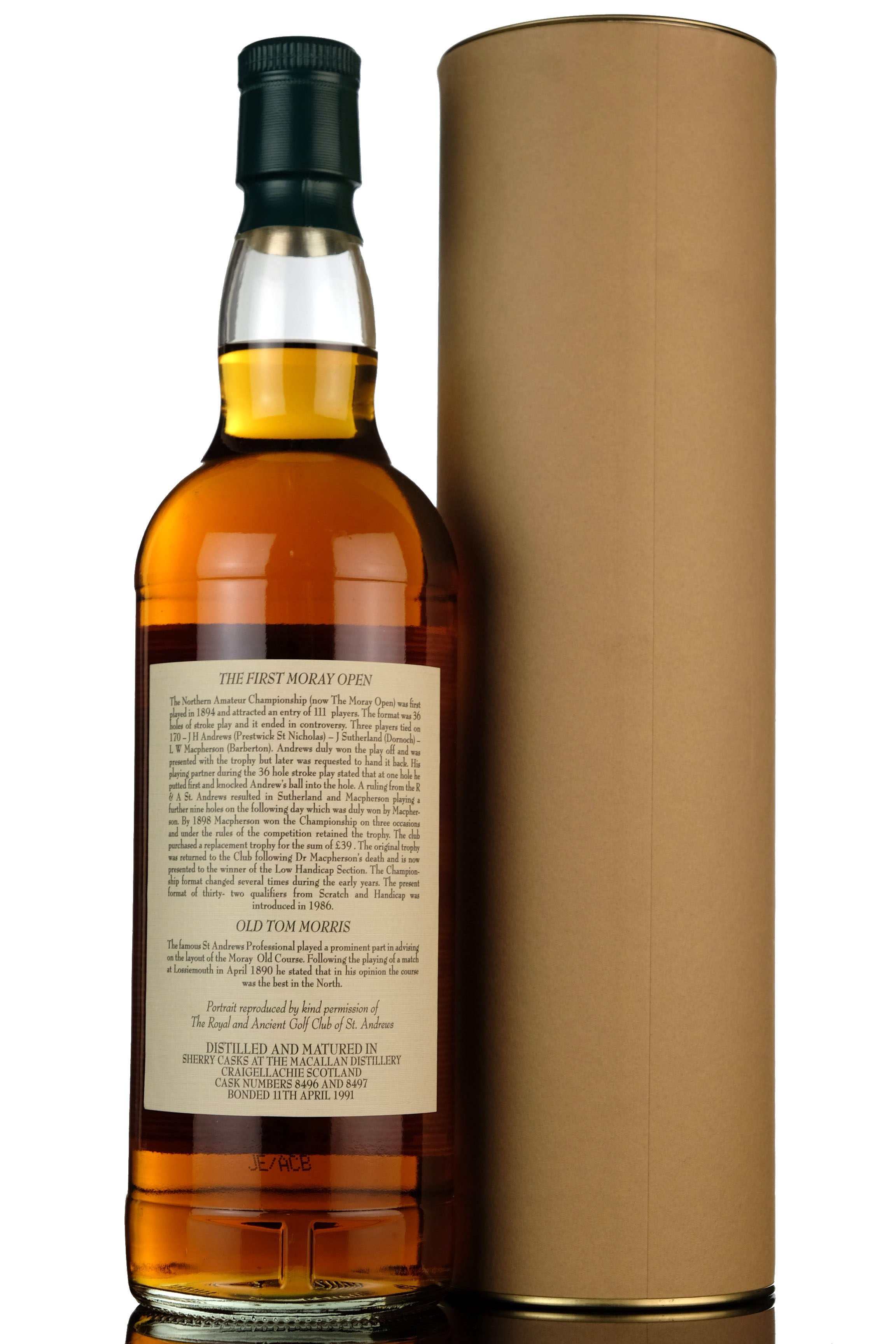 macallan 14 year old - moray open 2005