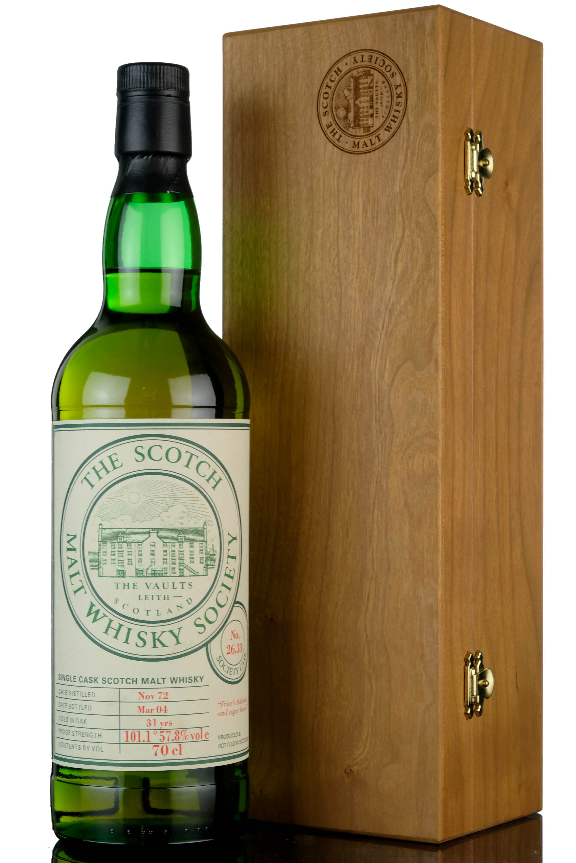 clynelish 1972-2004 - 31 year old - smws 26.33