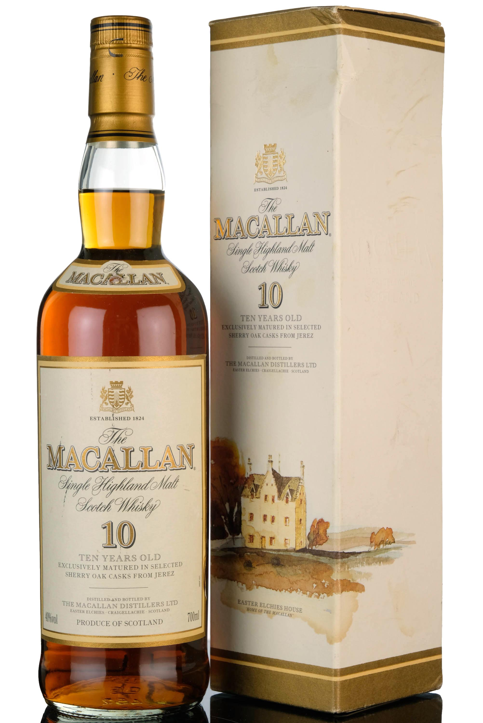 macallan 10 year old - sherry casks - early 2000s