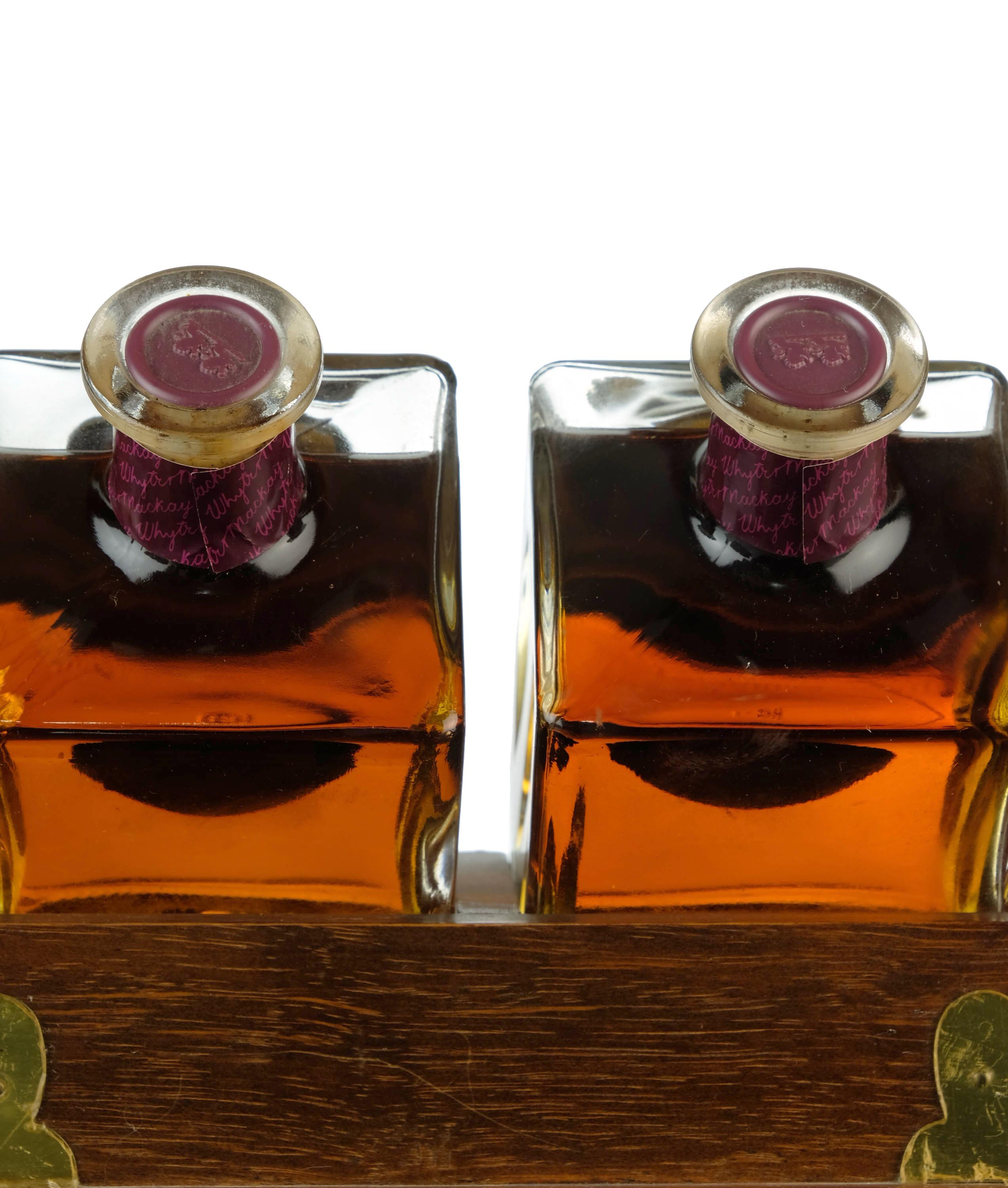 whyte & mackay tantalus - 12 and 21 year old
