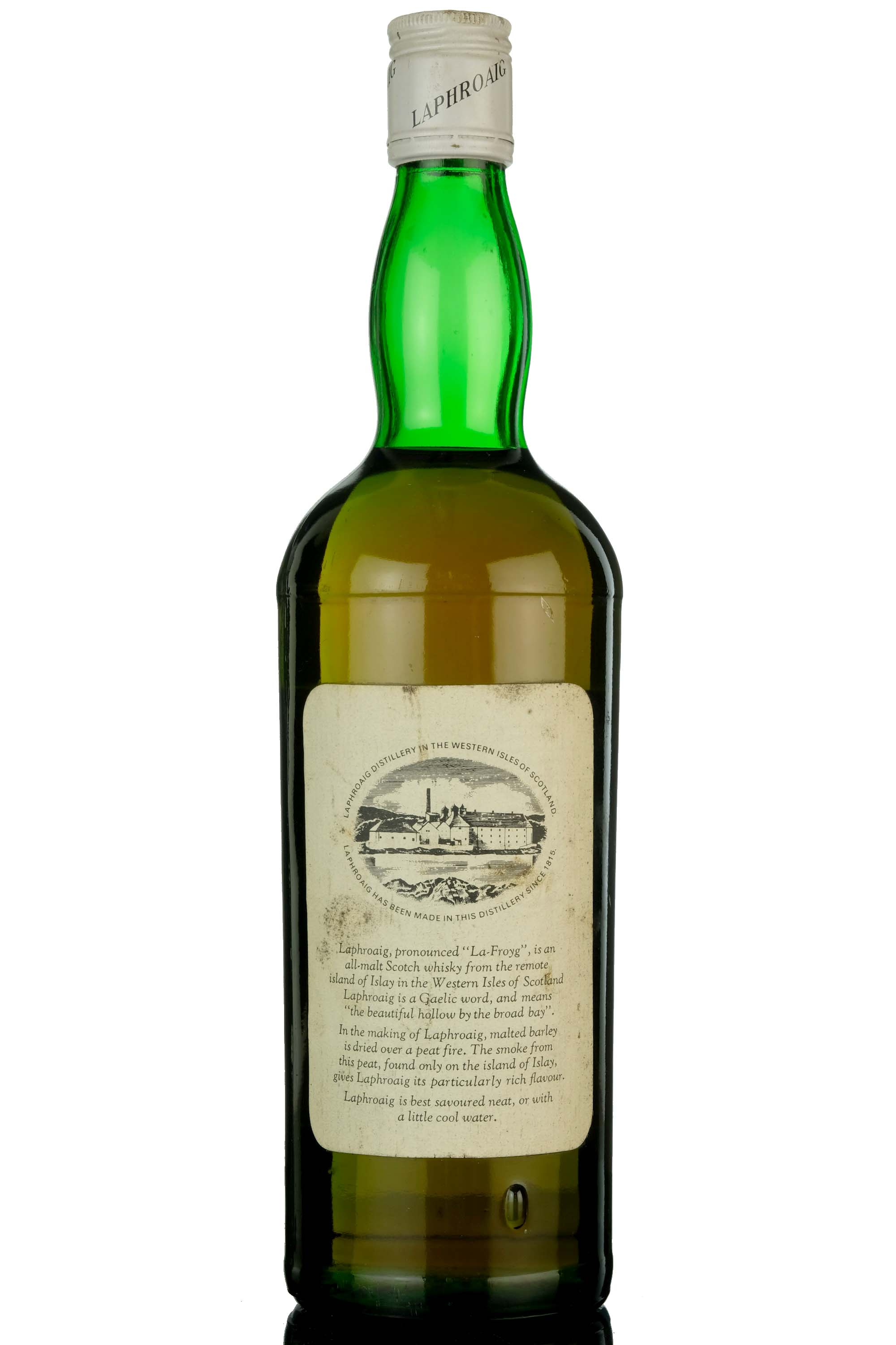 laphroaig 10 year old - late 1970s