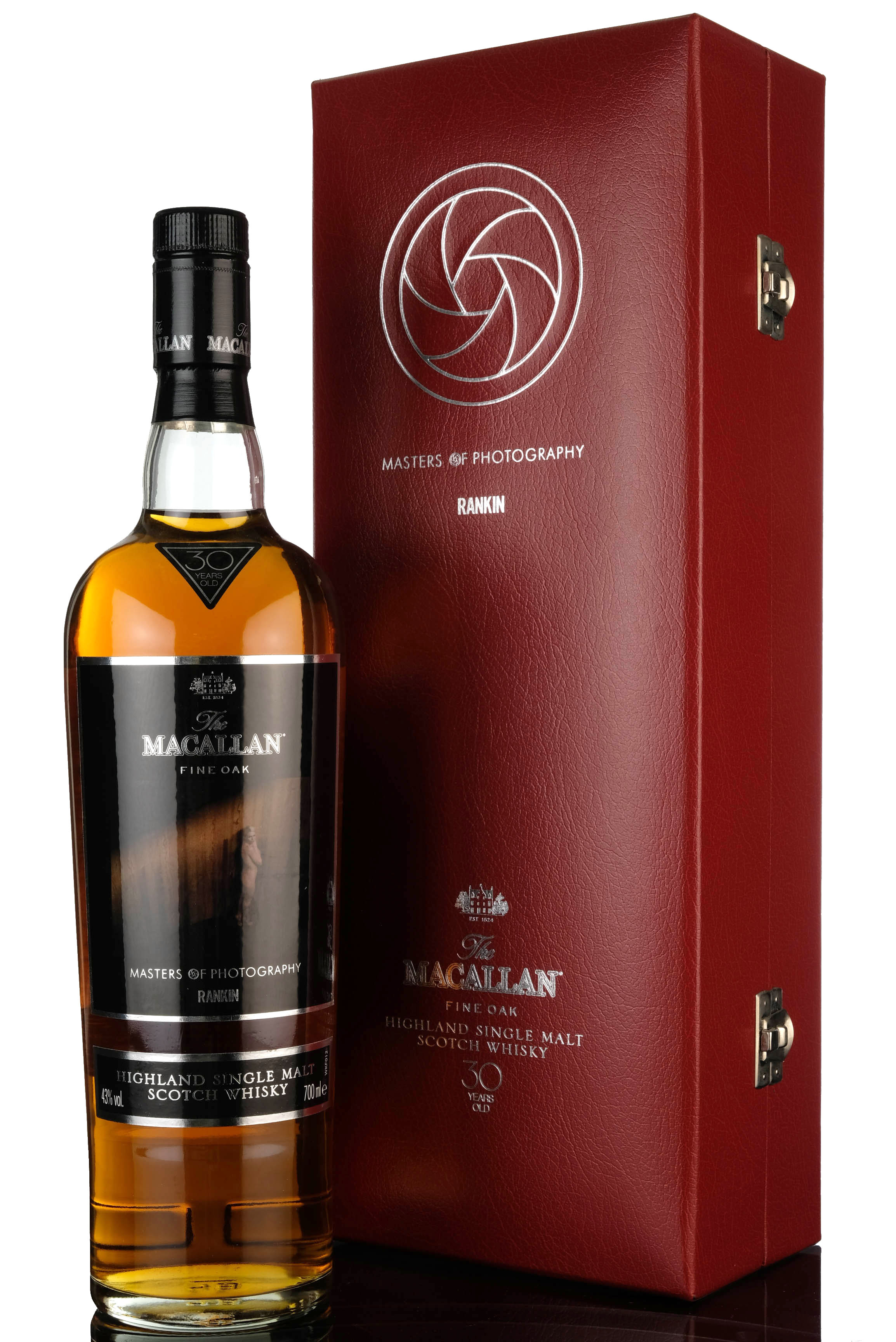 macallan 30 year old - masters of photography - rankin