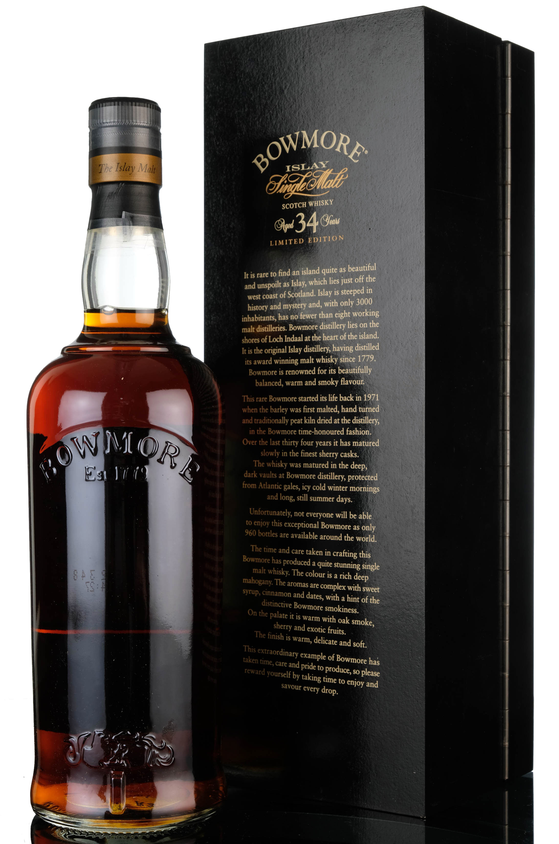 bowmore 1971 - 34 year old