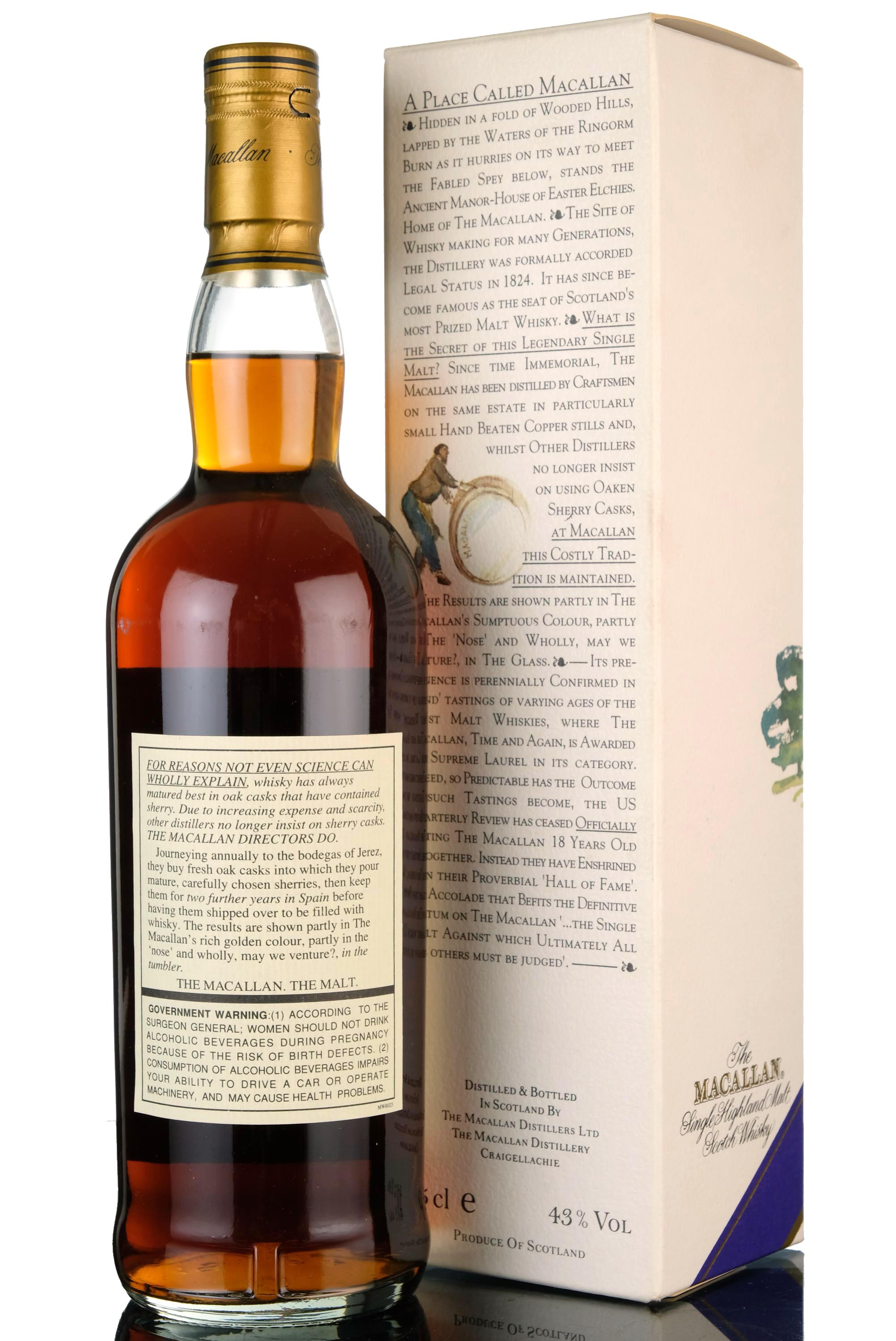 macallan 1980-1998 - 18 year old - 75cl