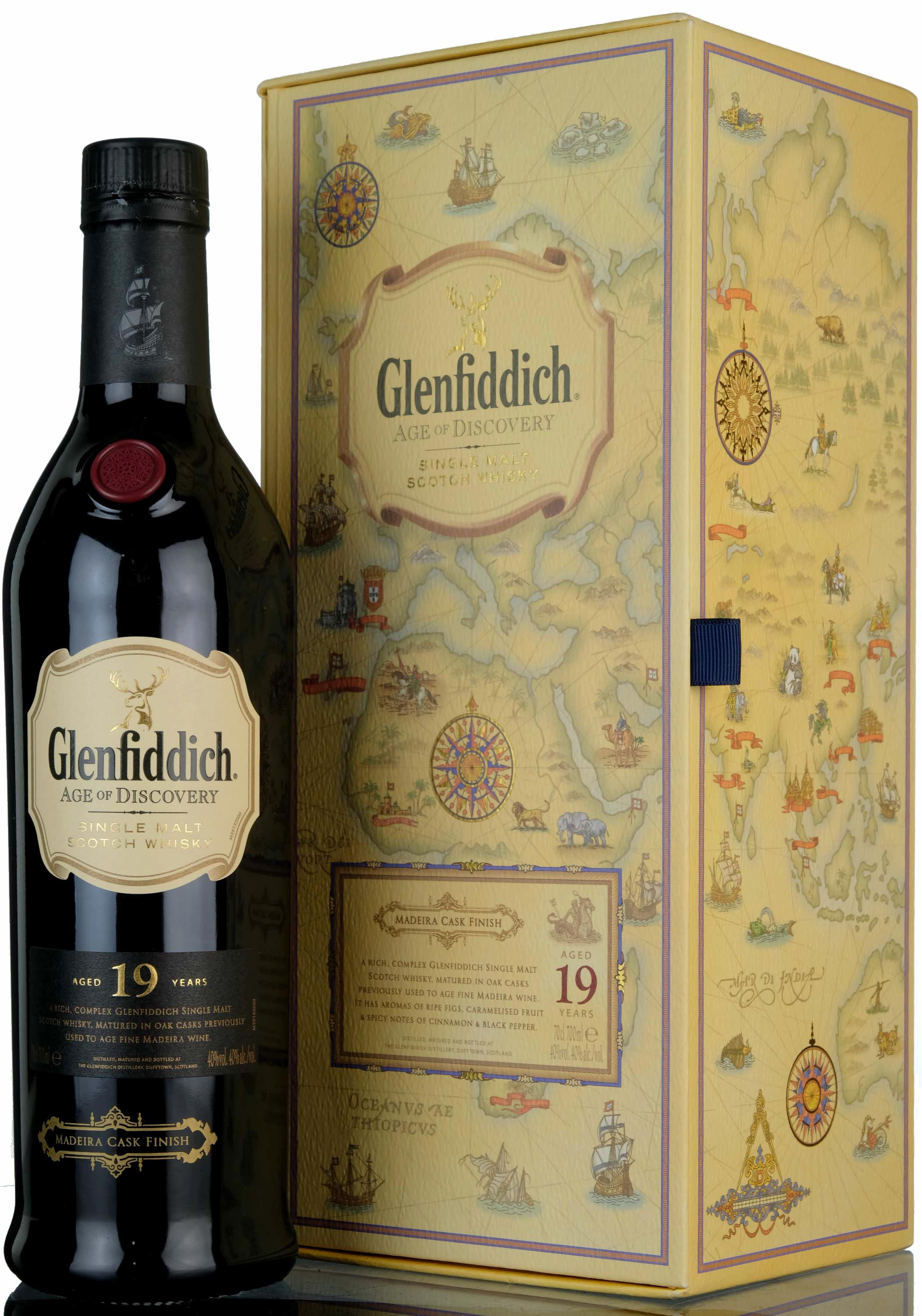 glenfiddich 19 year old - age of discovery - madeira cask finish