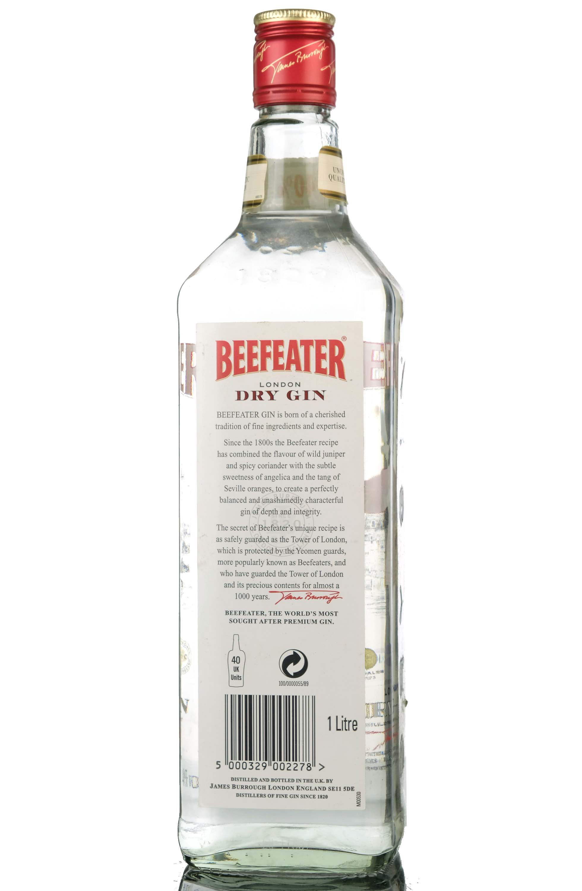 beefeater gin - 1 litre
