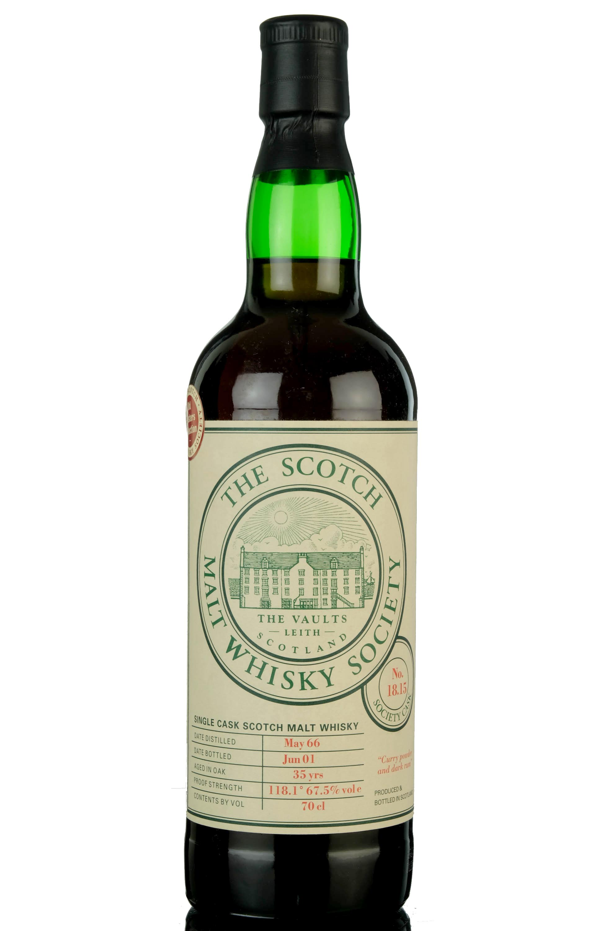 inchgower 1966-2001 - 35 year old - smws 18.15