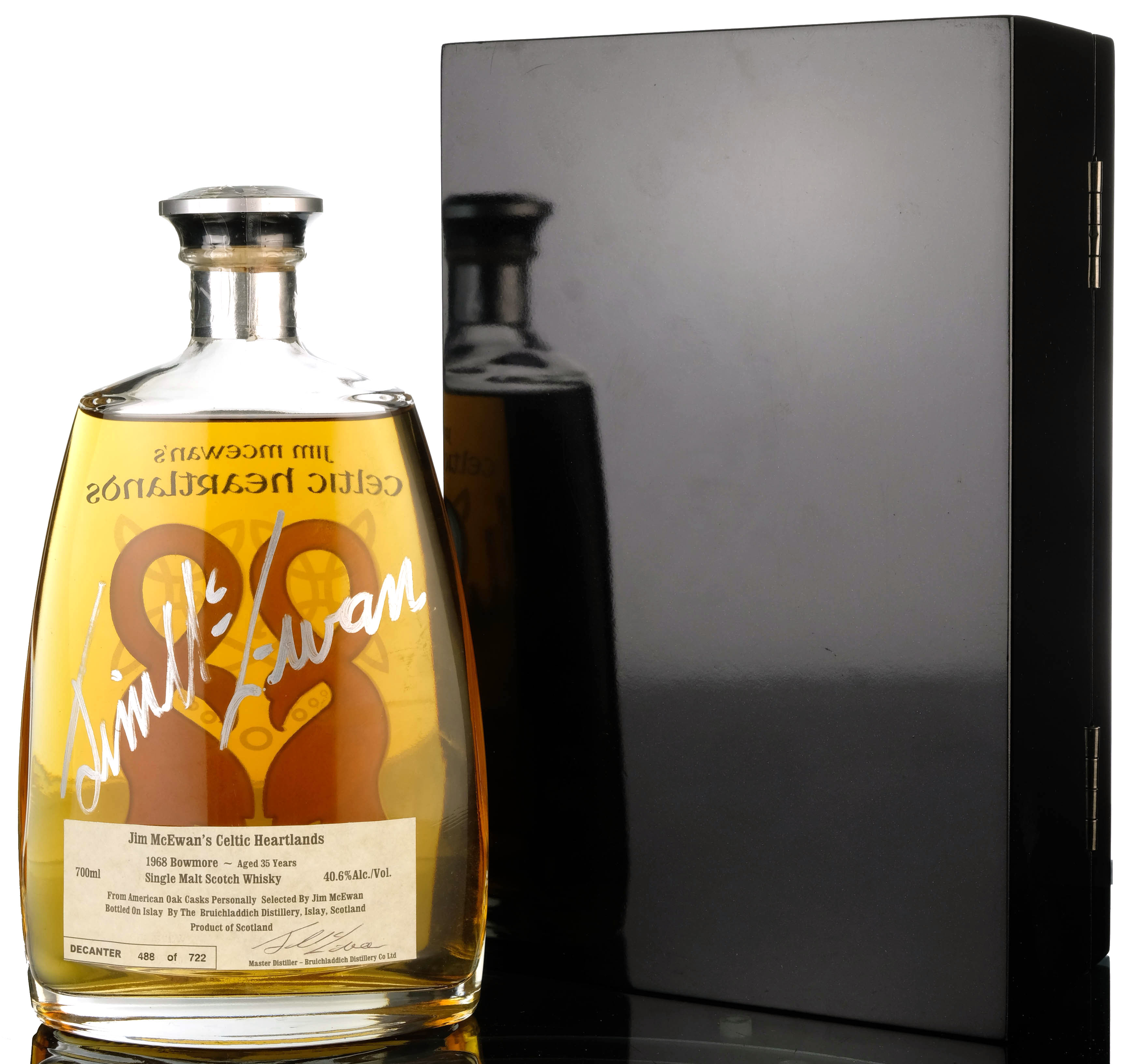 bowmore 1968 - 35 year old - celtic heartlands