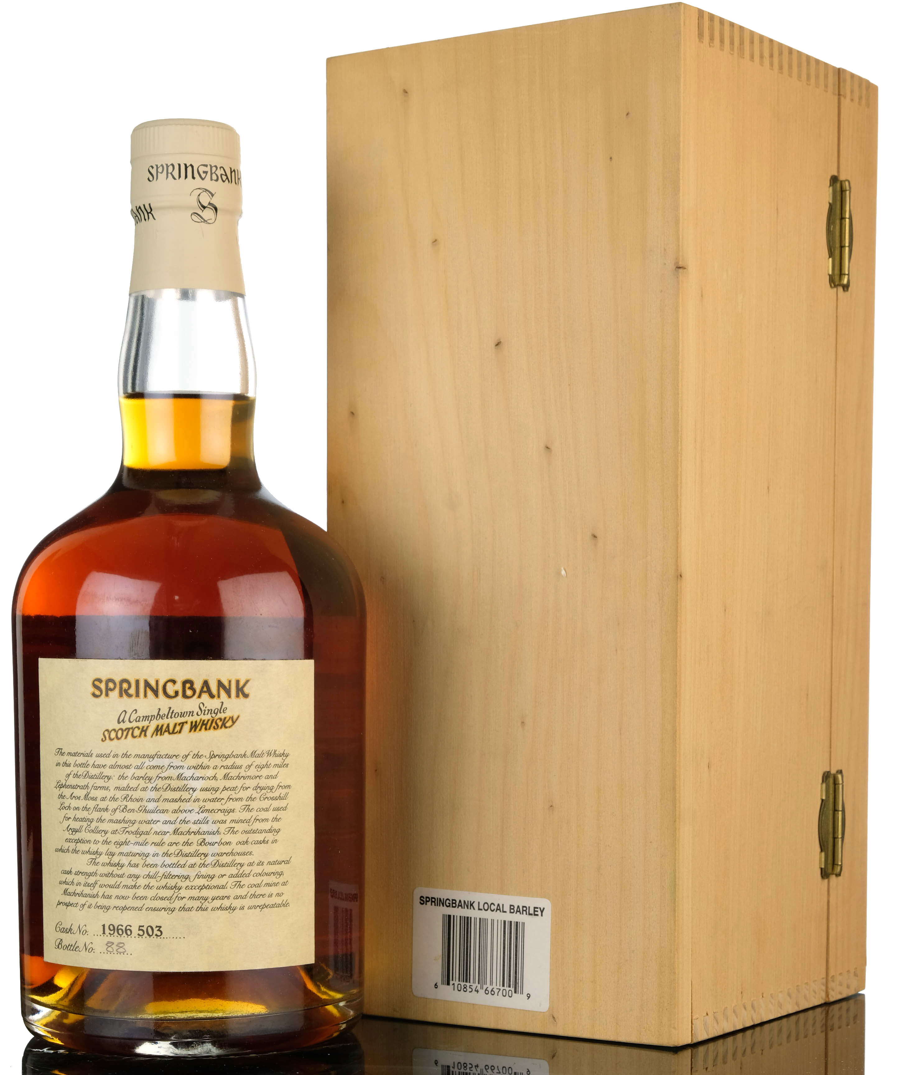 springbank 1966-1999 - local barley - single cask 503