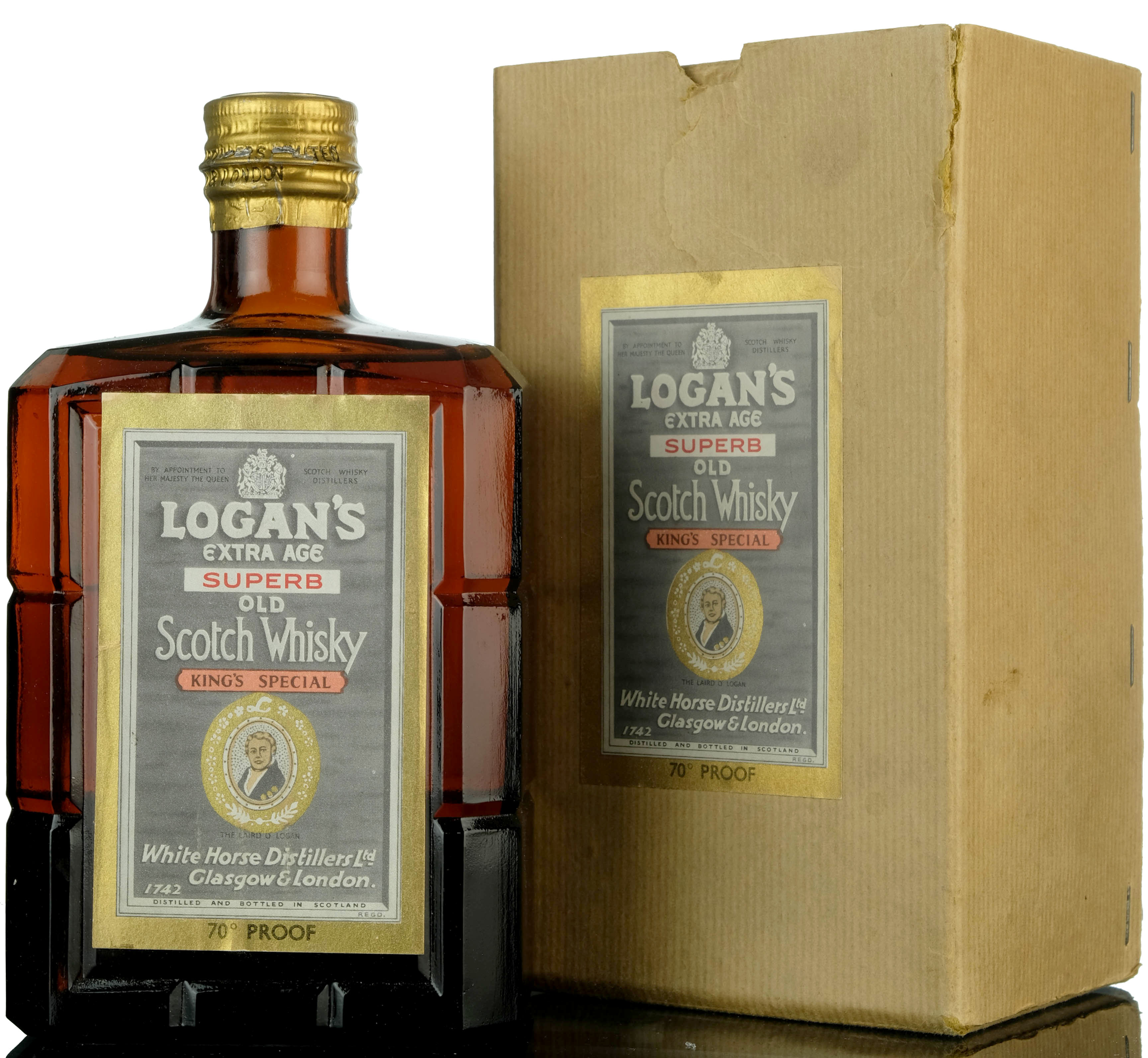 logans extra age superb - laird o'logan kings special - 1950s