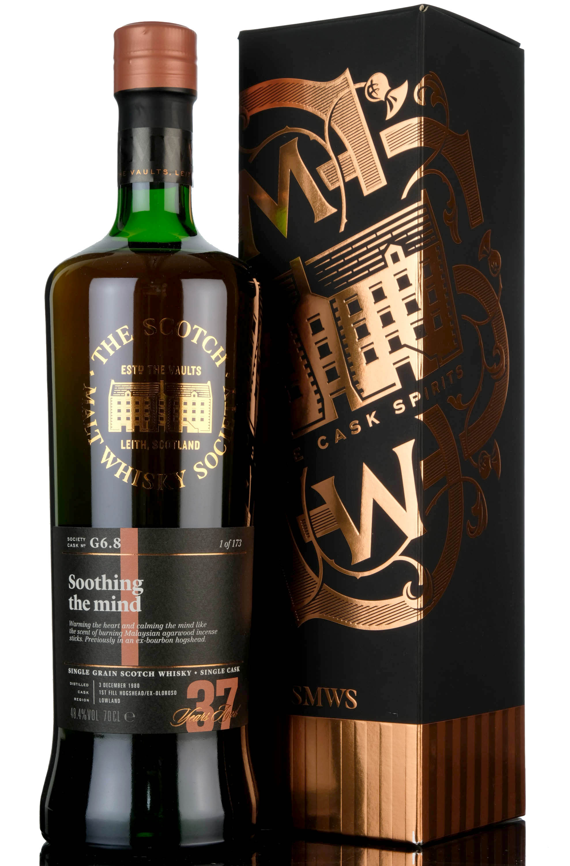 port dundas 1980 - 37 year old - smws g6.8 - soothing the mind