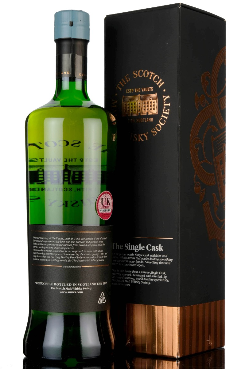 caperdonich 1992 - 25 year old - smws 38.22 - love letters on linen paper