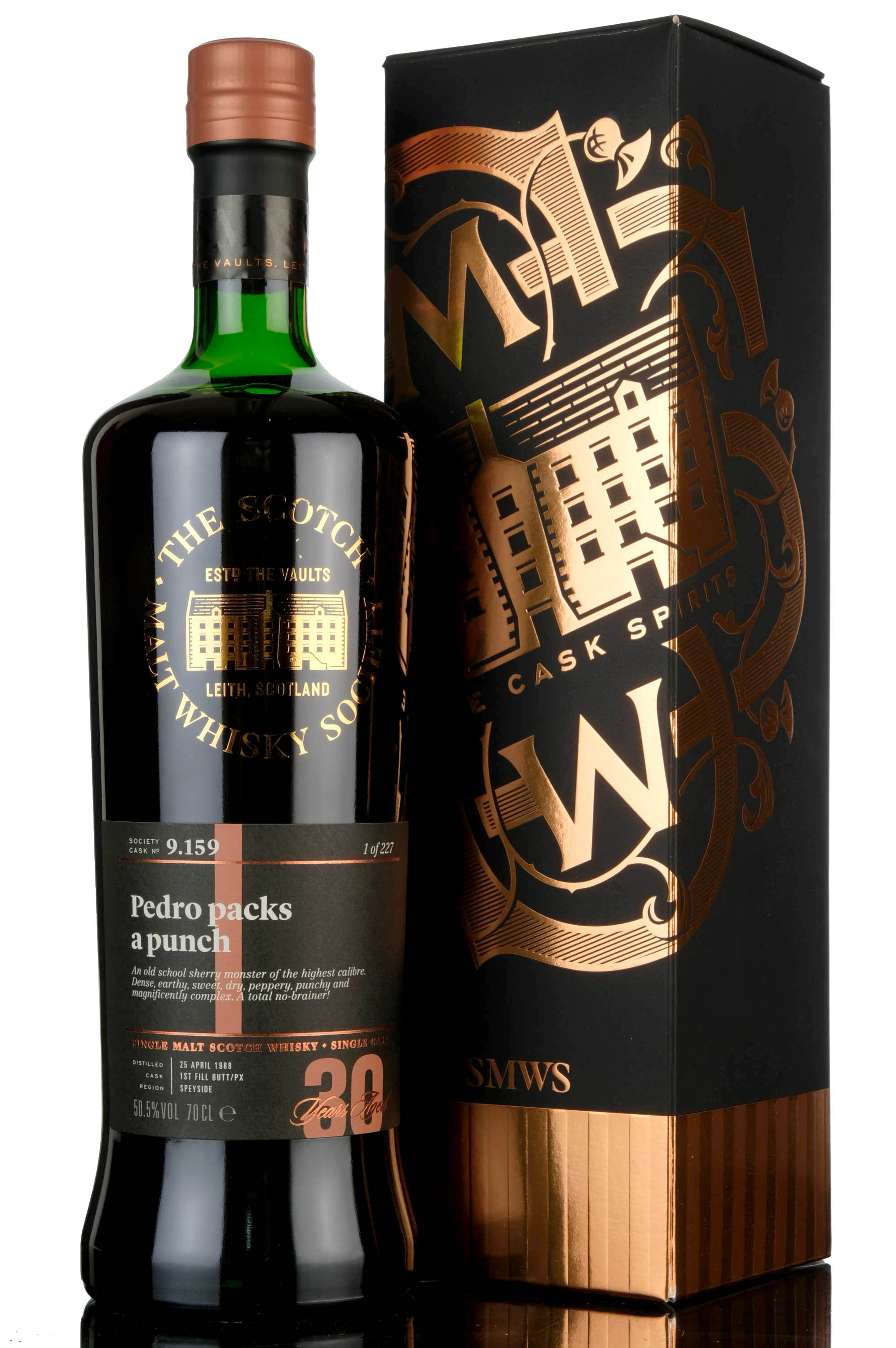 glen grant 1988 - 30 year old - smws 9.159 - pedro packs a punch