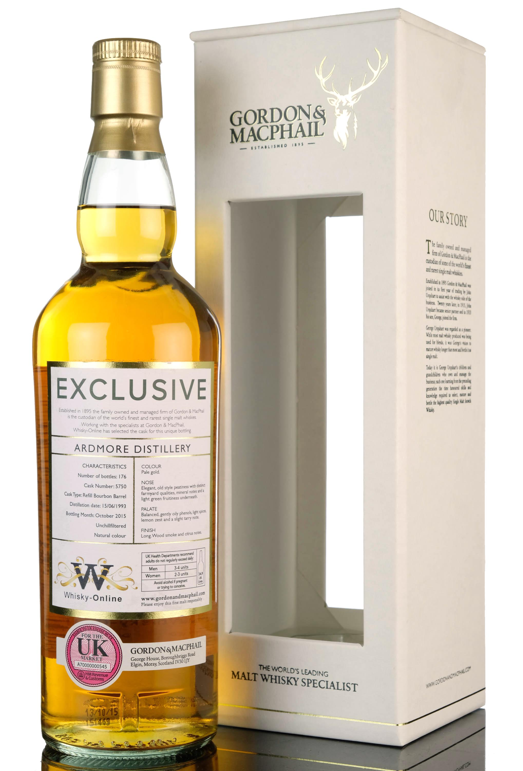 ardmore 1993-2015 - whisky-online exclusive