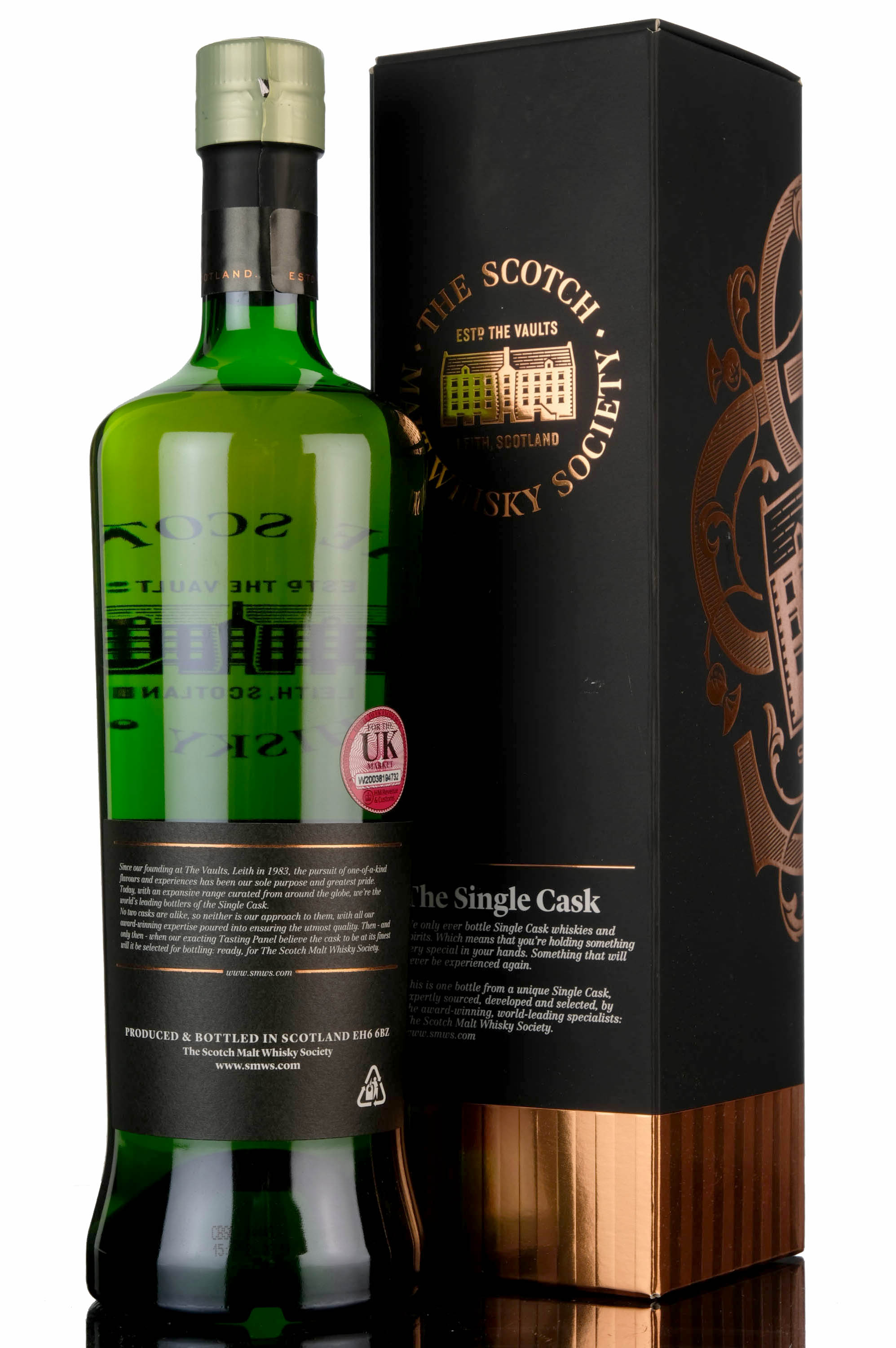 laphroaig 1995 - 23 year old - smws 29.255 - smoke over the machair