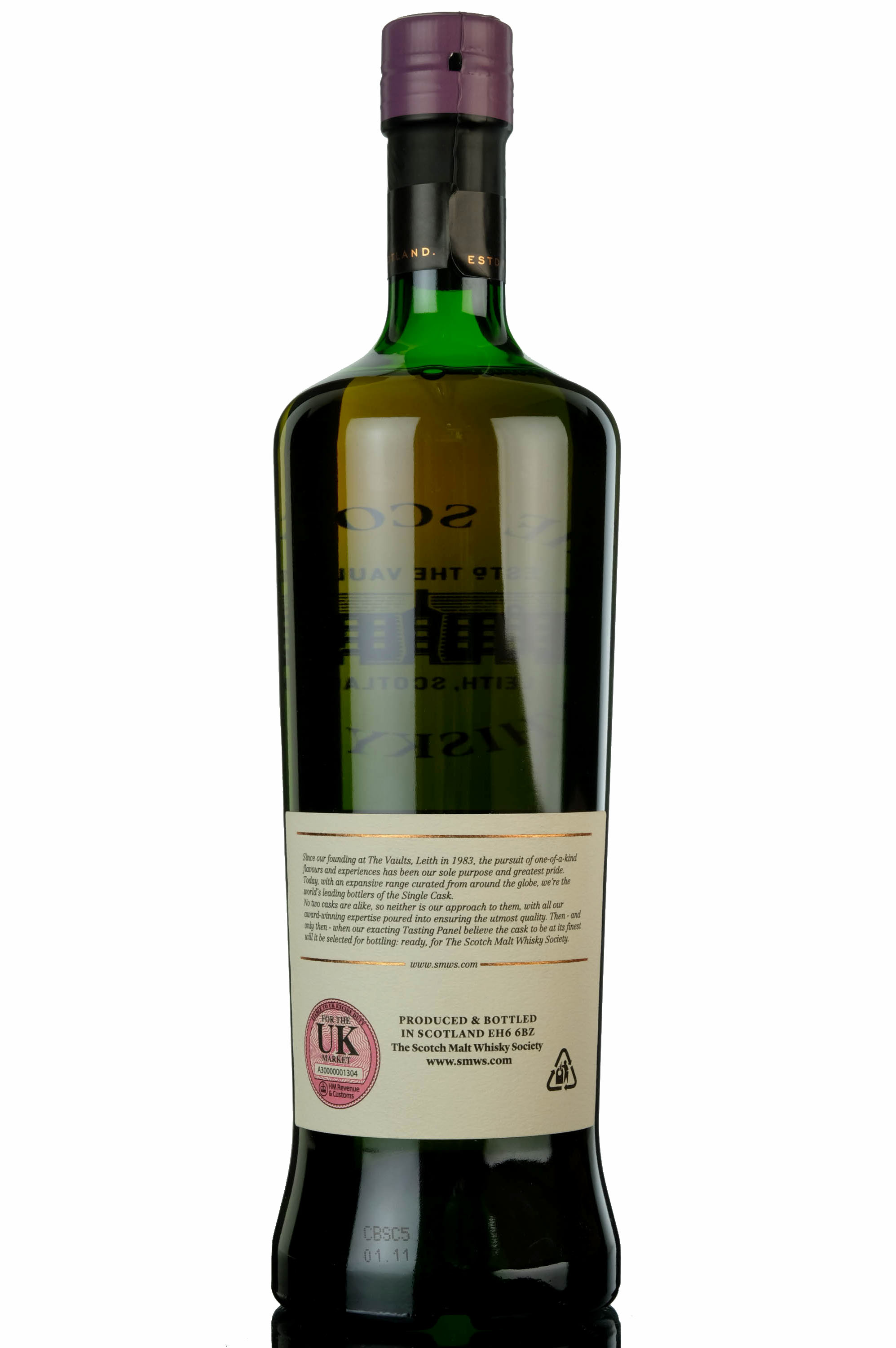 longmorn 1992 - 25 year old - smws 7.193 - cherry fudge with dark chocolate