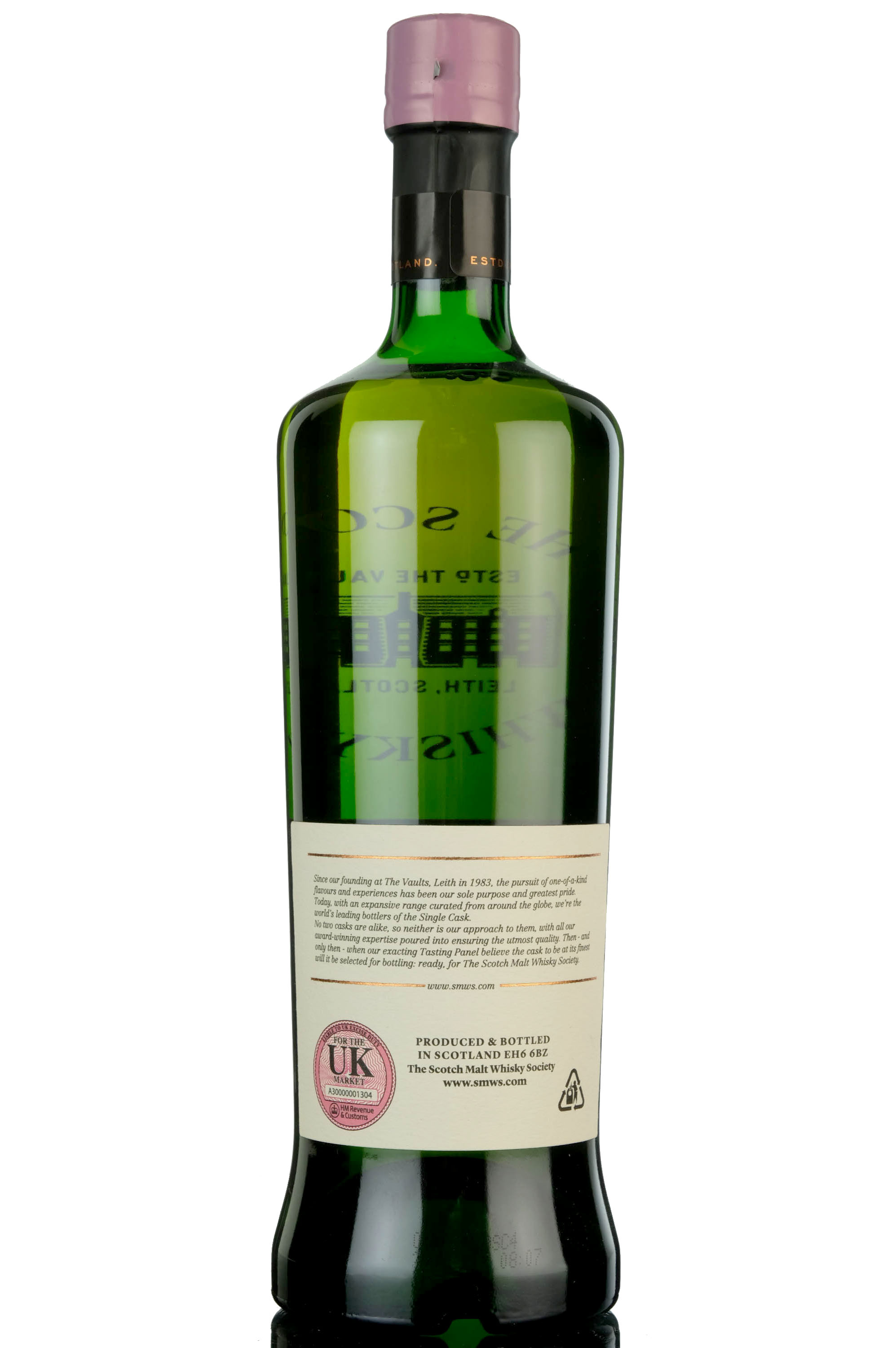 glen grant 1992 - 24 year old - smws 9.128 - scented candles on a fruit cake