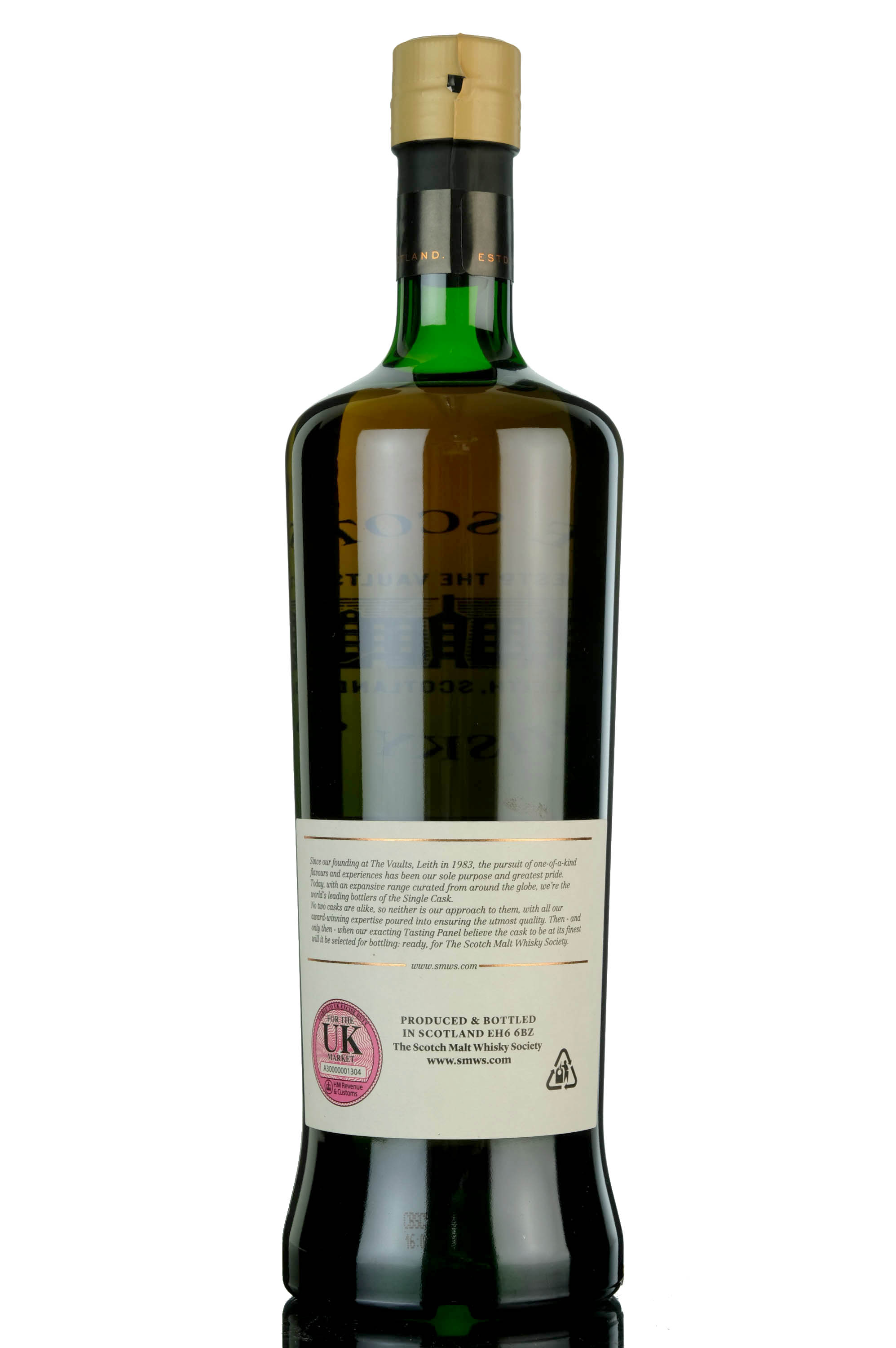 glenfarclas 1997 - 21 year old - smws 1.208 - long conversations by the crackling log fire