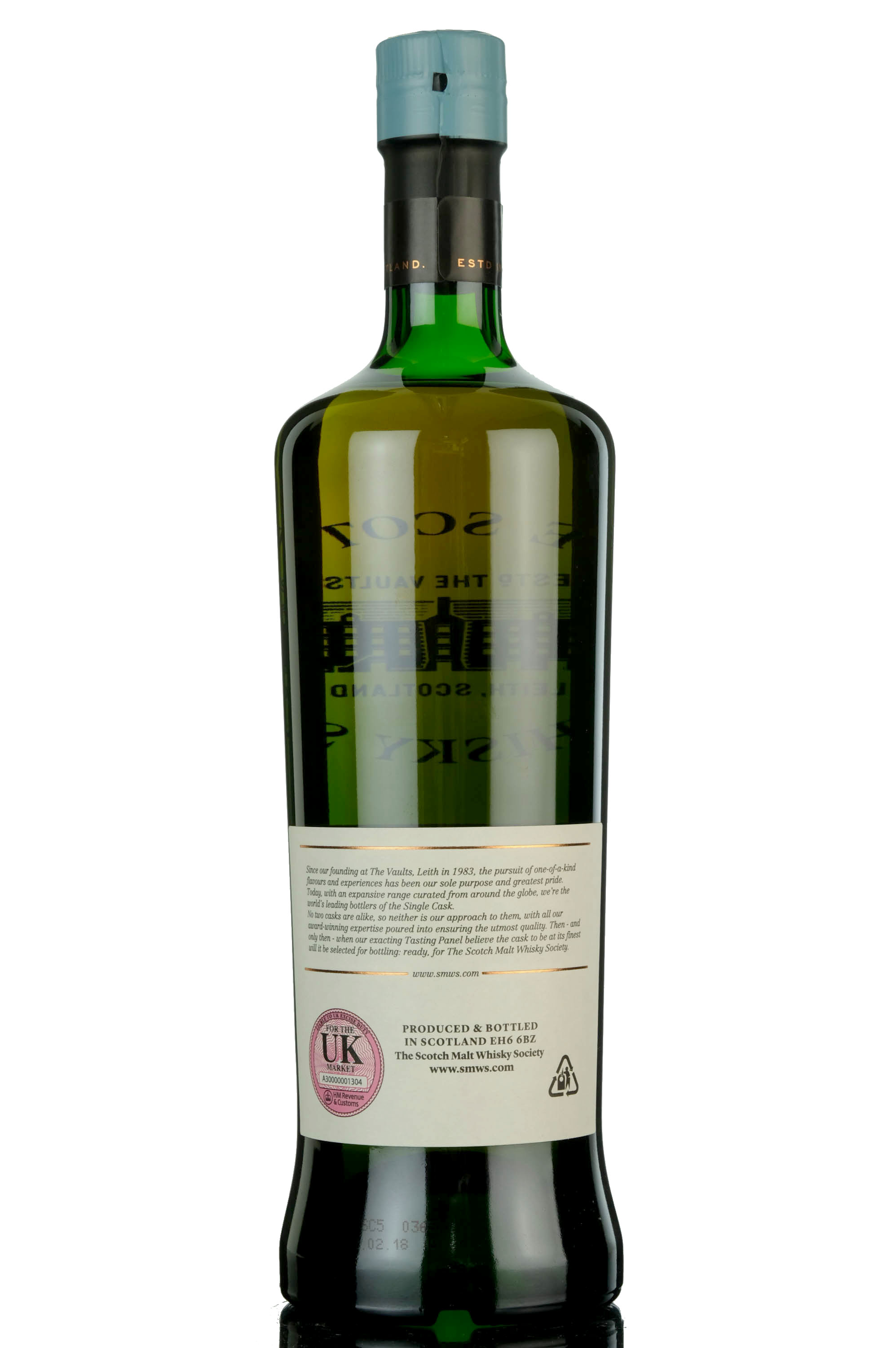 longmorn 1992 - 25 year old - smws 7.200 - sassy lassie in a leather skirt