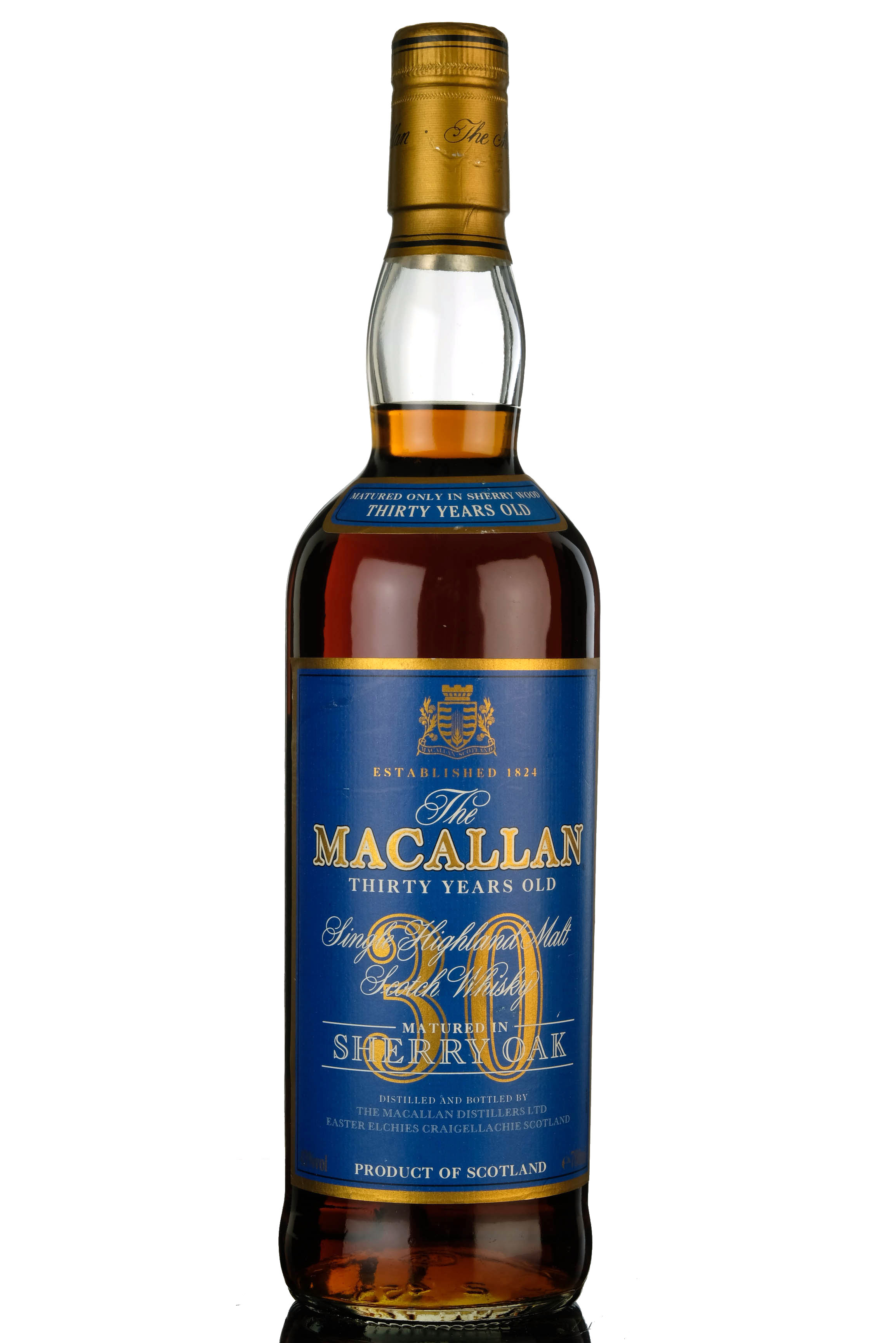 macallan 30 year old - sherry cask