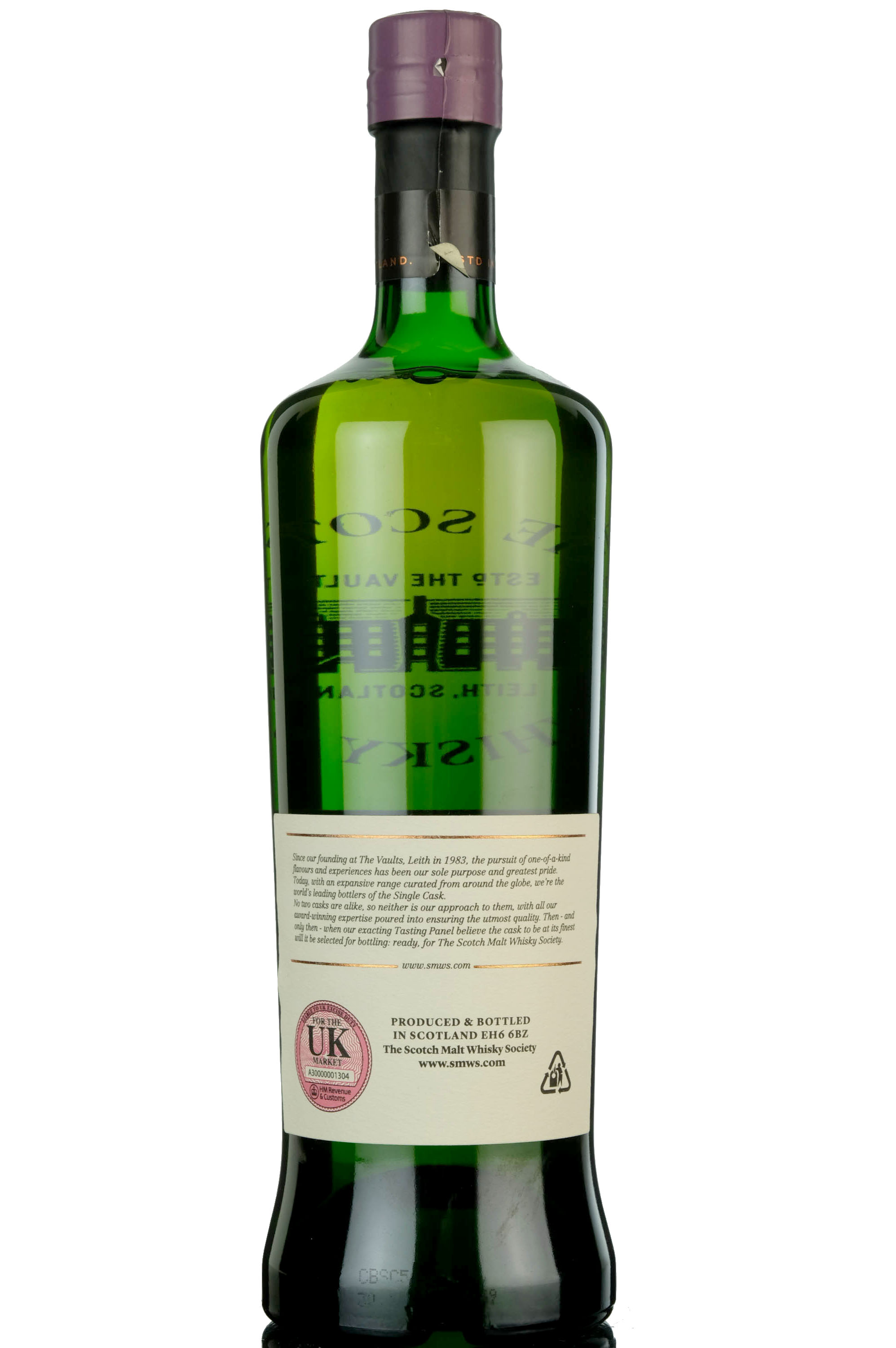 glenlossie 1992 - 24 year old - smws 46.55 - raindrops on a lavender bush