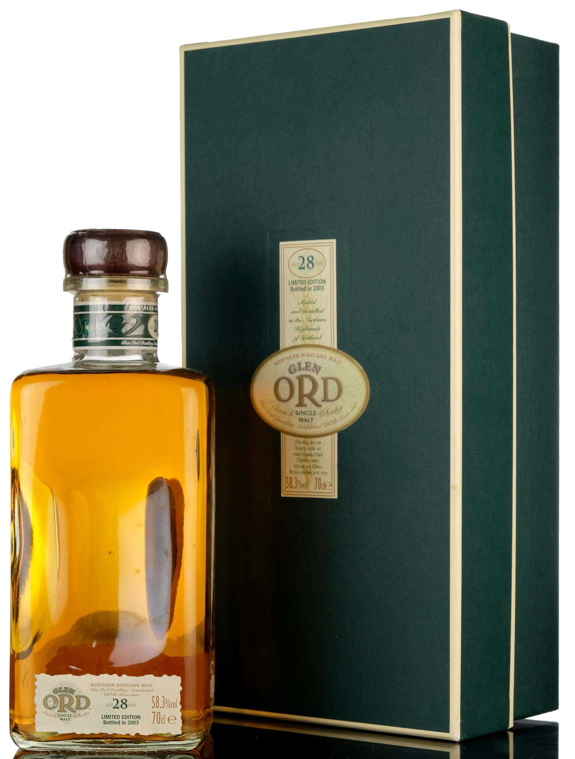 glen ord 28 year old - 2003 special release